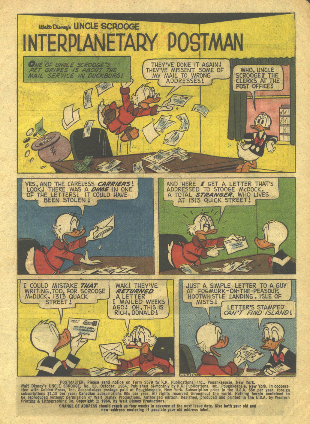 Uncle Scrooge (1953) Issue #53 #53 - English 3