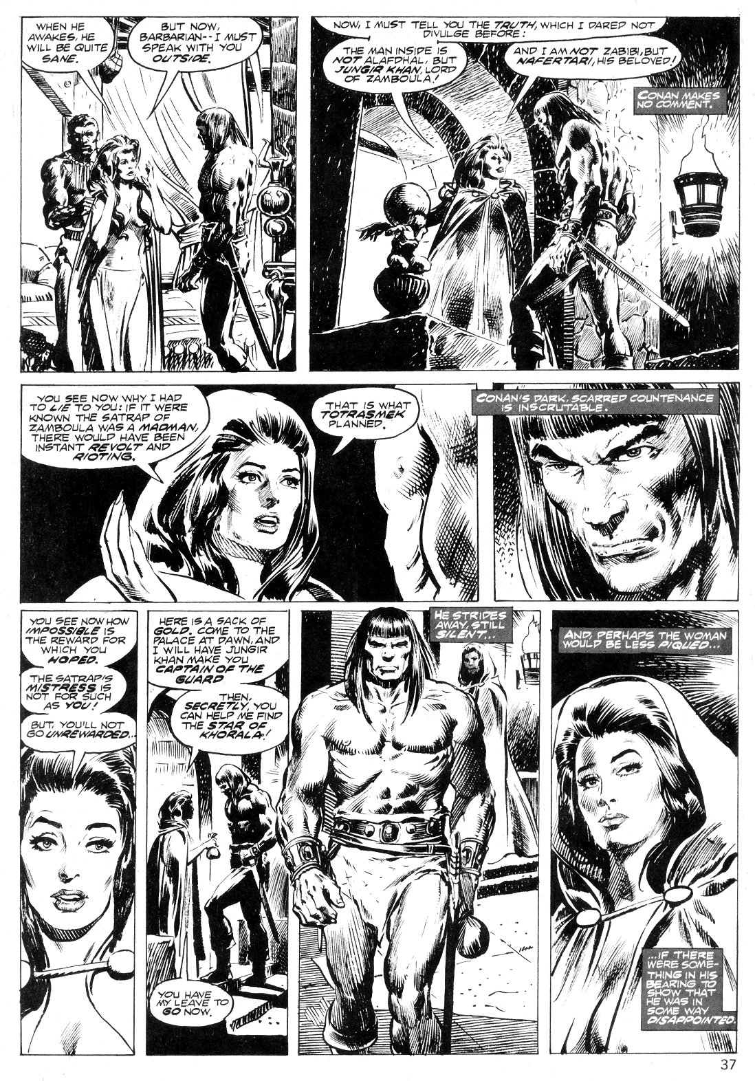 The Savage Sword Of Conan Issue #14 #15 - English 37