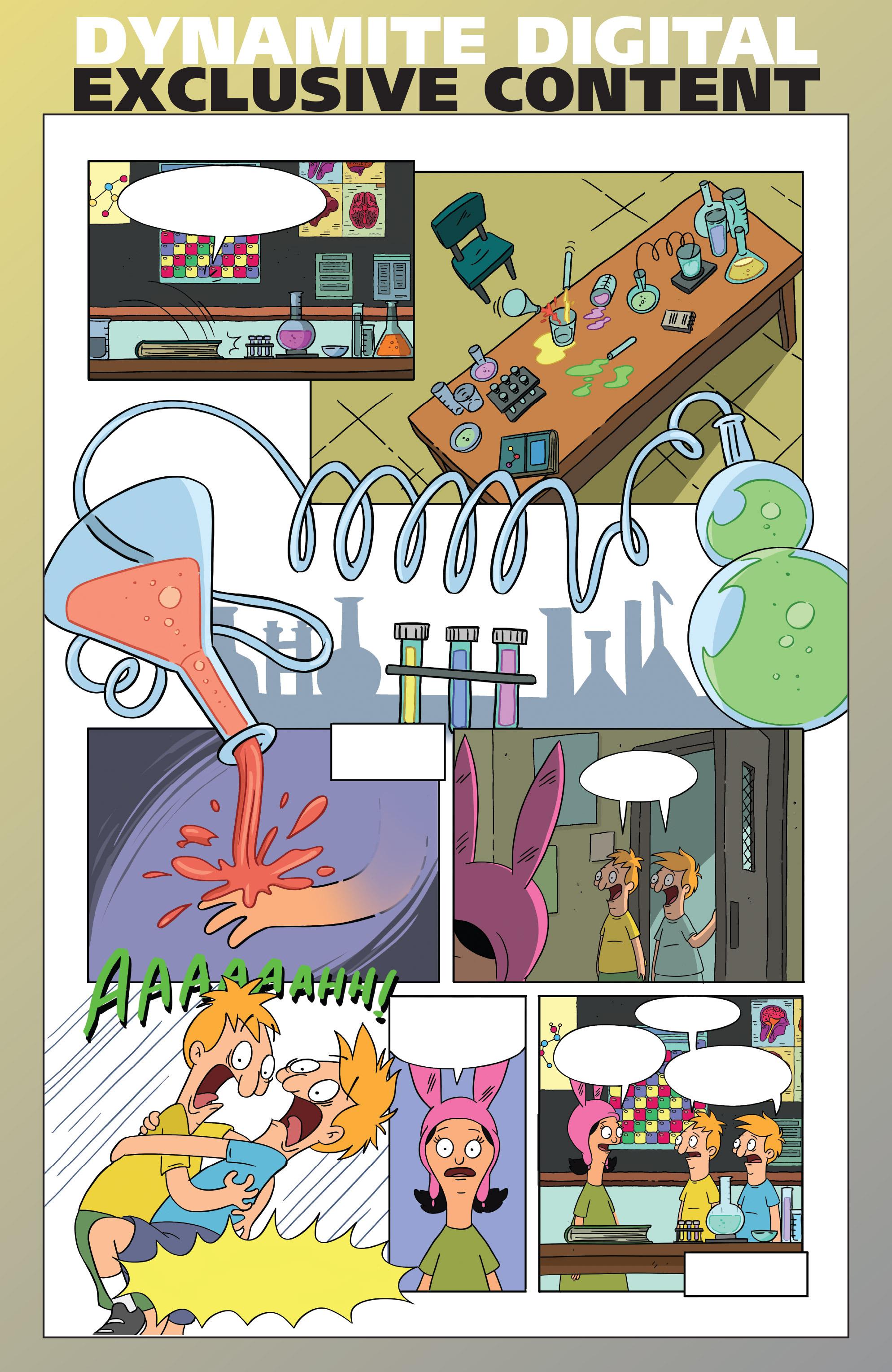 Read online Bob's Burgers (2014) comic -  Issue #4 - 30
