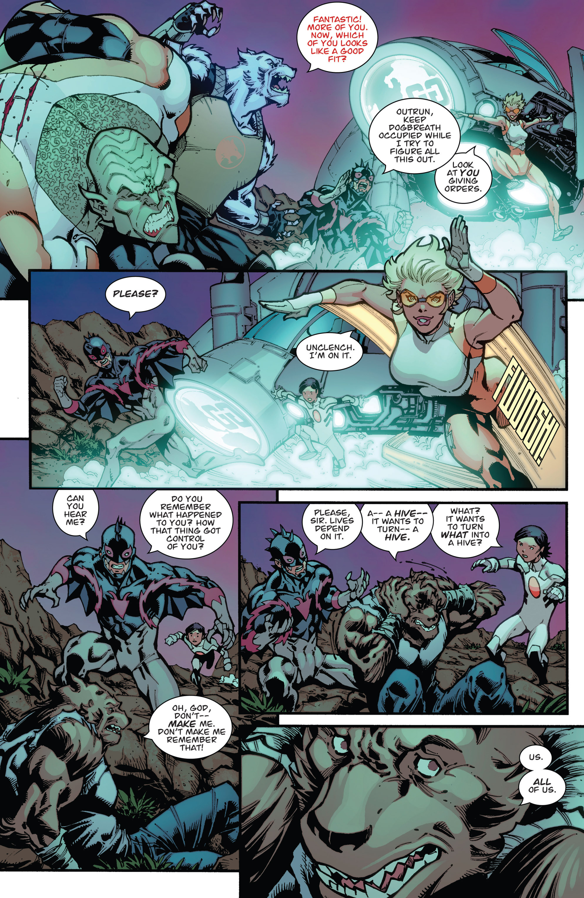 Read online Guarding the Globe (2012) comic -  Issue #3 - 19