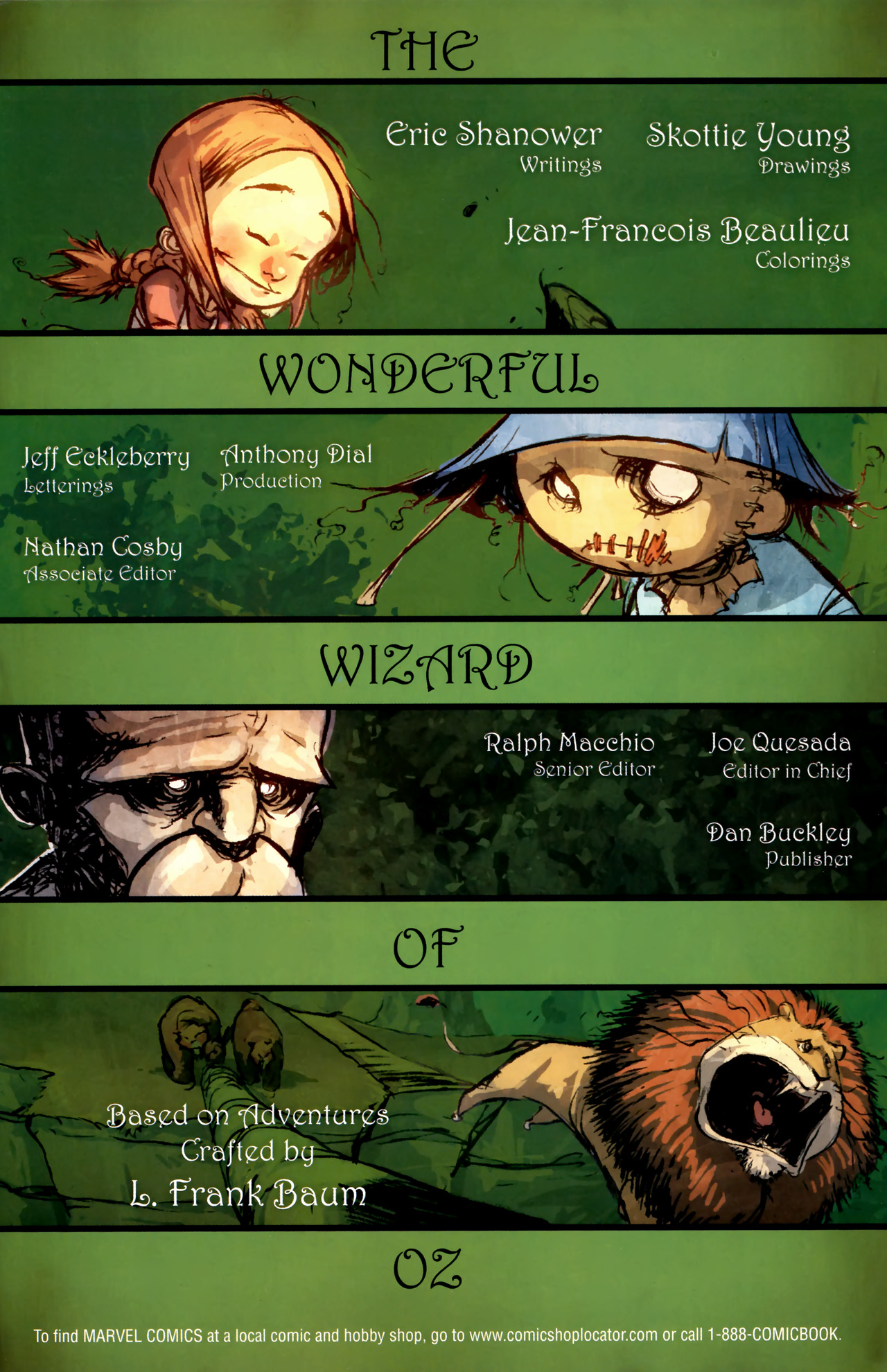Read online The Wonderful Wizard of Oz comic -  Issue #4 - 2