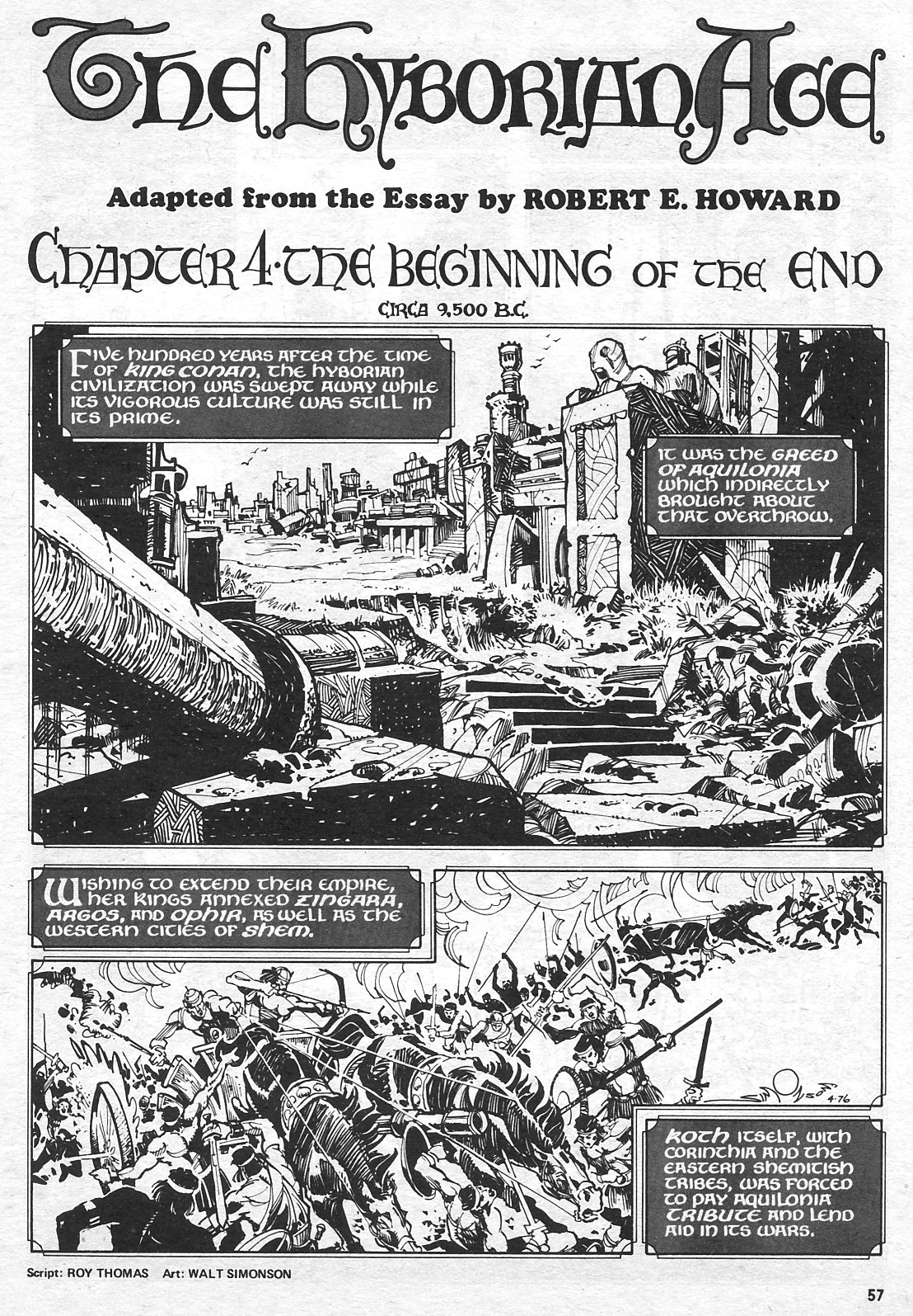 The Savage Sword Of Conan Issue #15 #16 - English 56