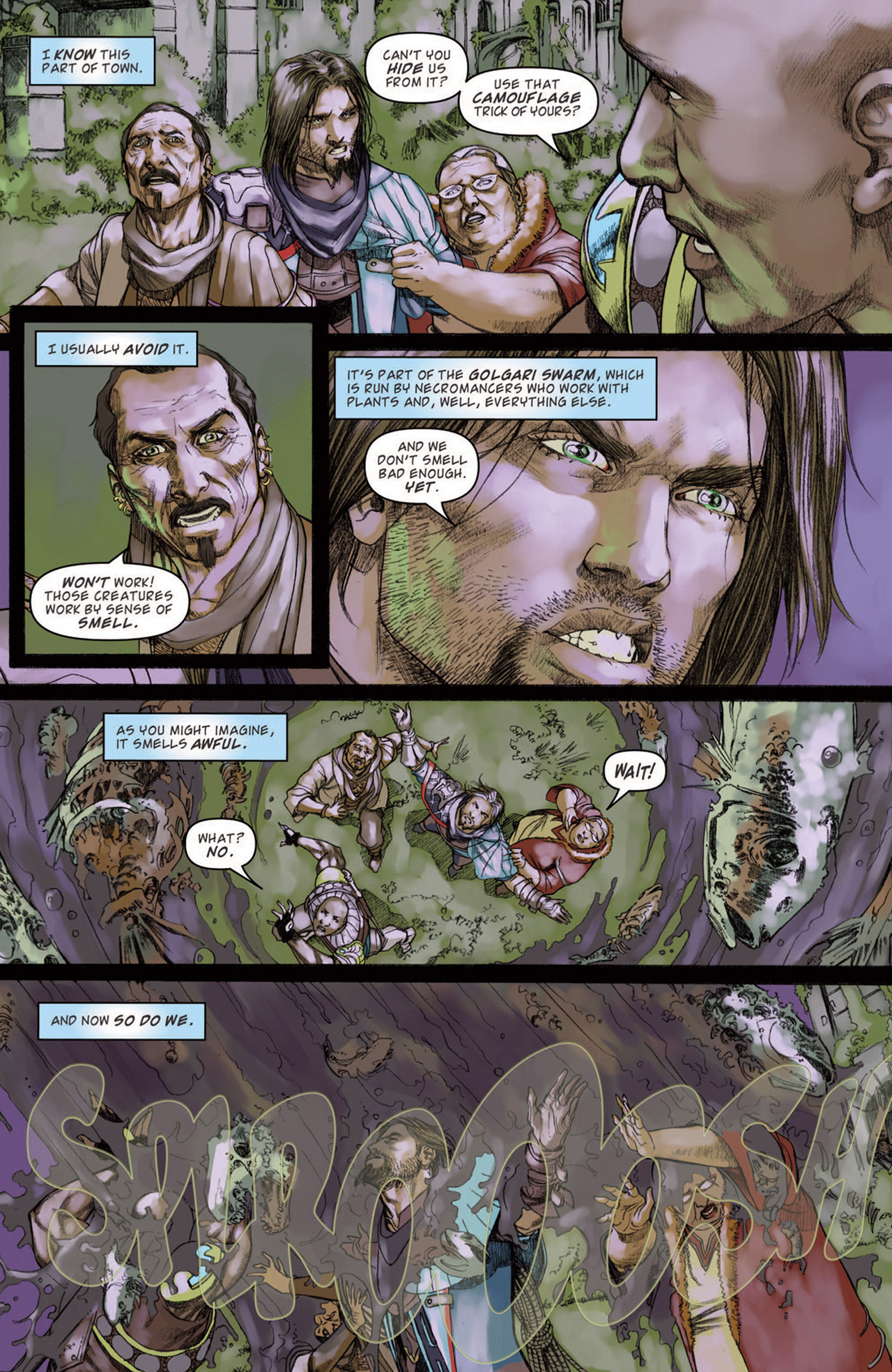 Read online Magic: The Gathering--Path of Vengeance comic -  Issue #3 - 11