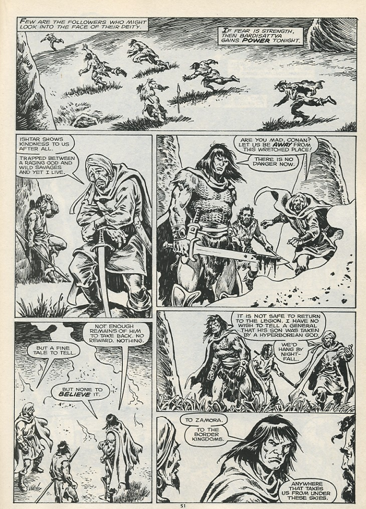 The Savage Sword Of Conan Issue #178 #179 - English 53