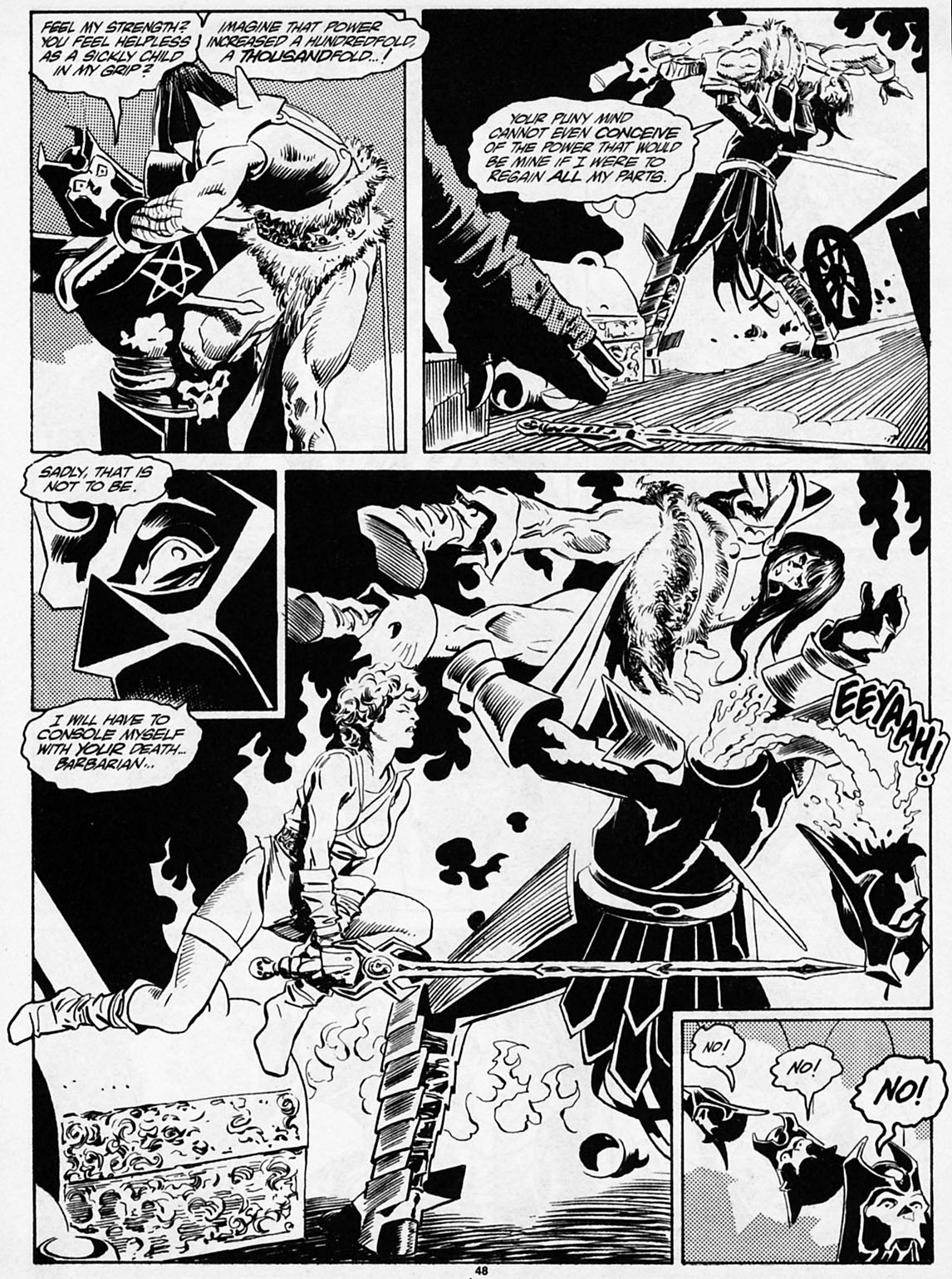The Savage Sword Of Conan Issue #186 #187 - English 49