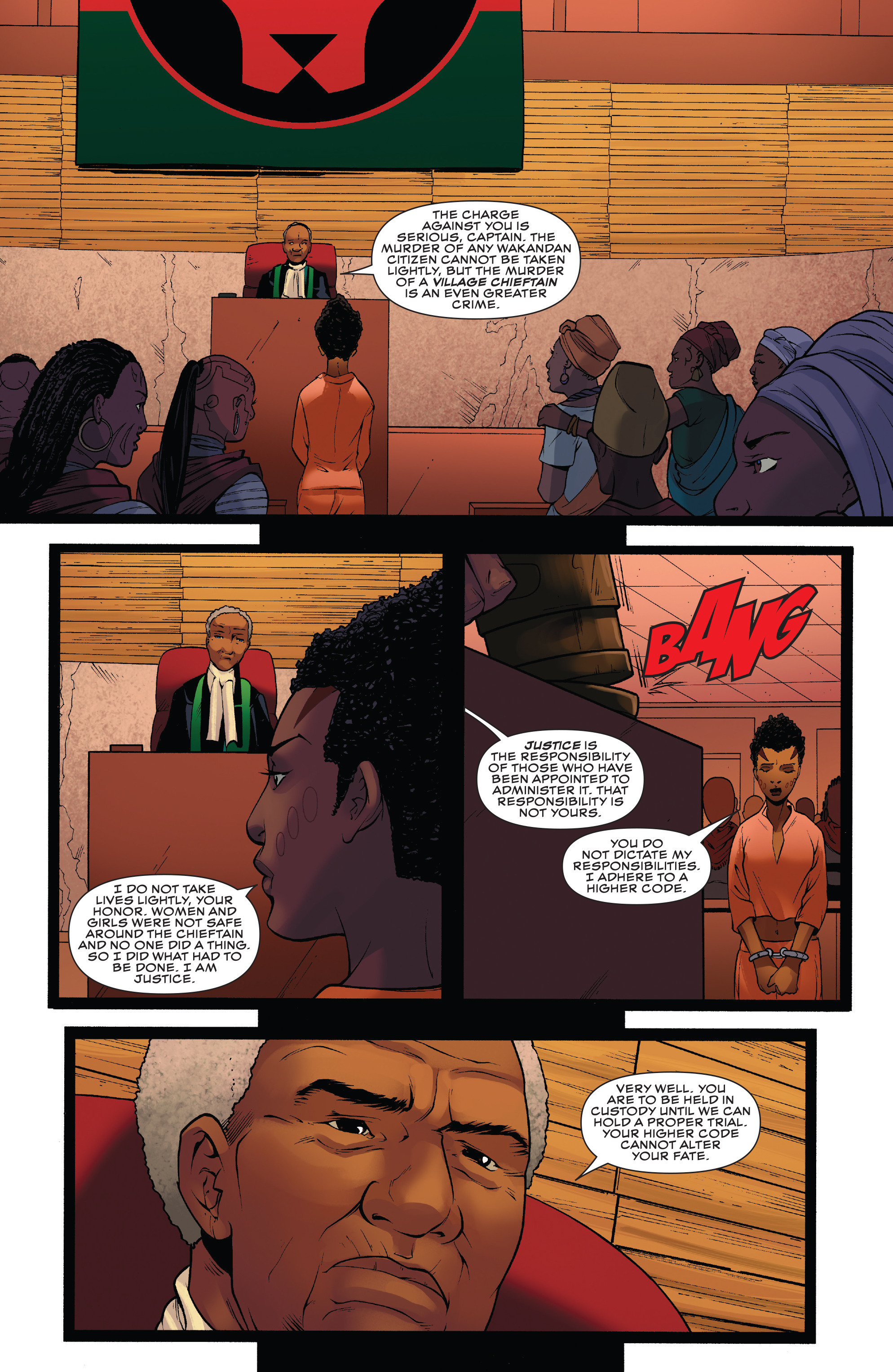 Read online Black Panther: World of Wakanda comic -  Issue #4 - 22