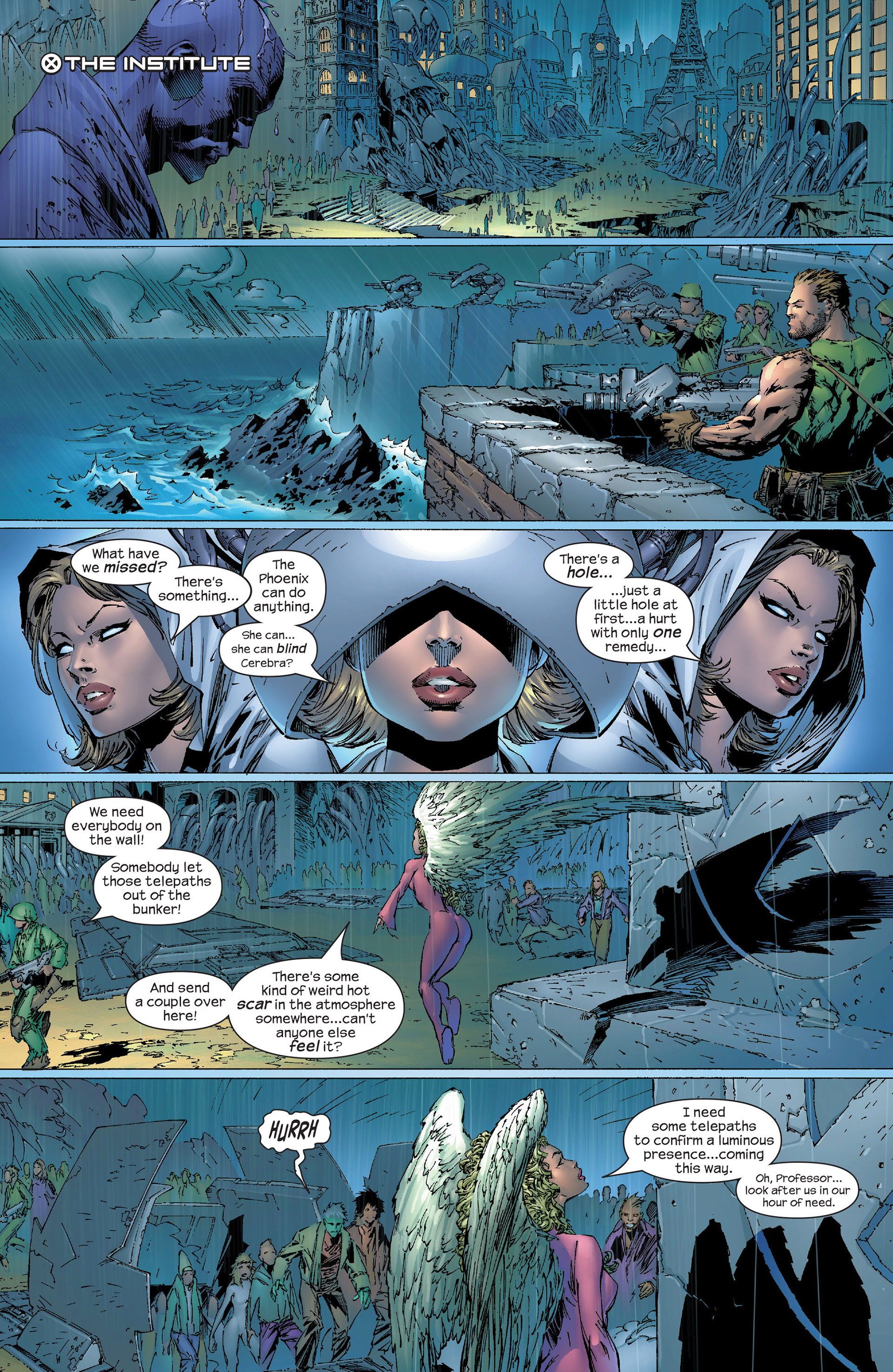 Read online New X-Men (2001) comic -  Issue #153 - 20