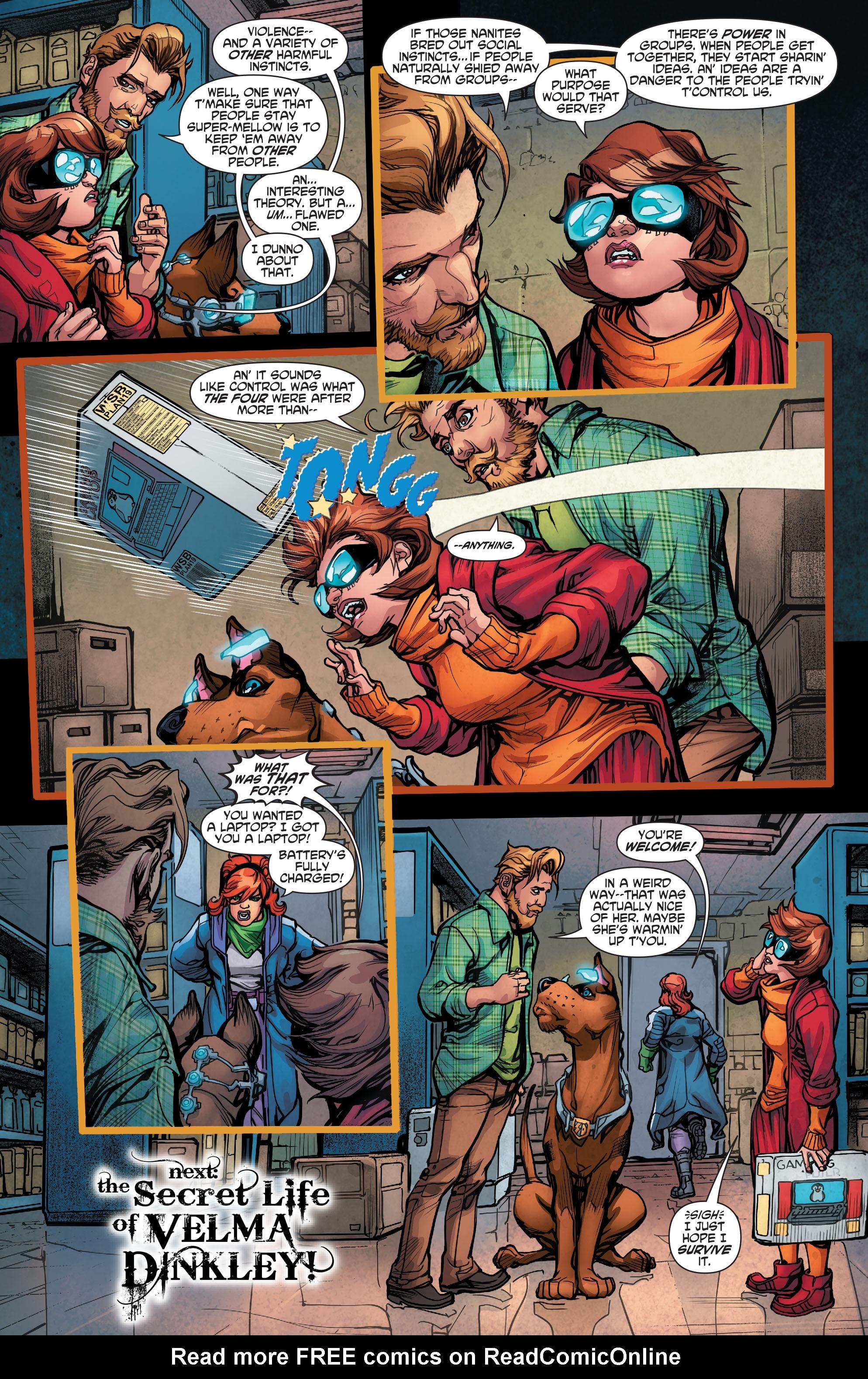 Read online Scooby Apocalypse comic -  Issue #5 - 25