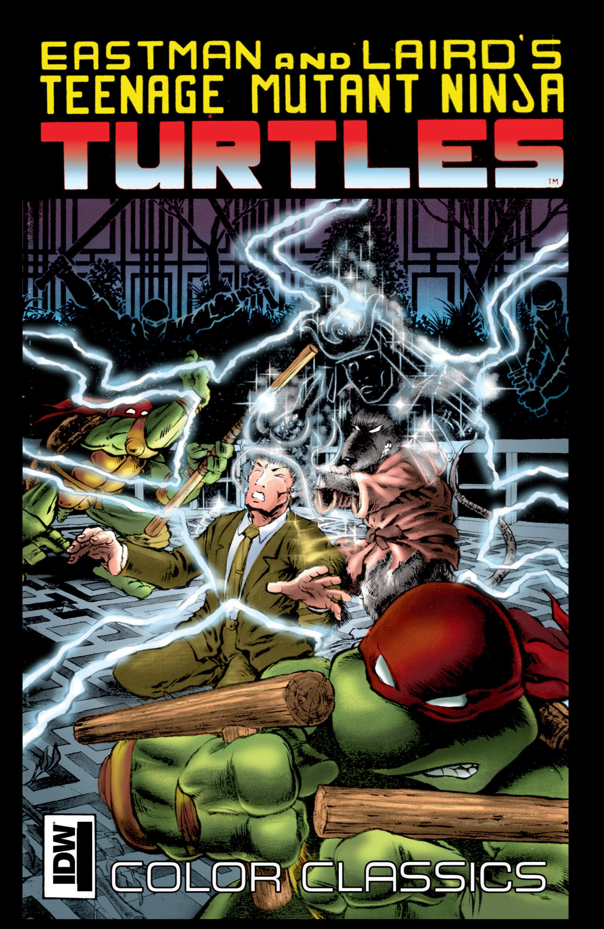Teenage Mutant Ninja Turtles Color Classics (2012) issue 9 - Page 1