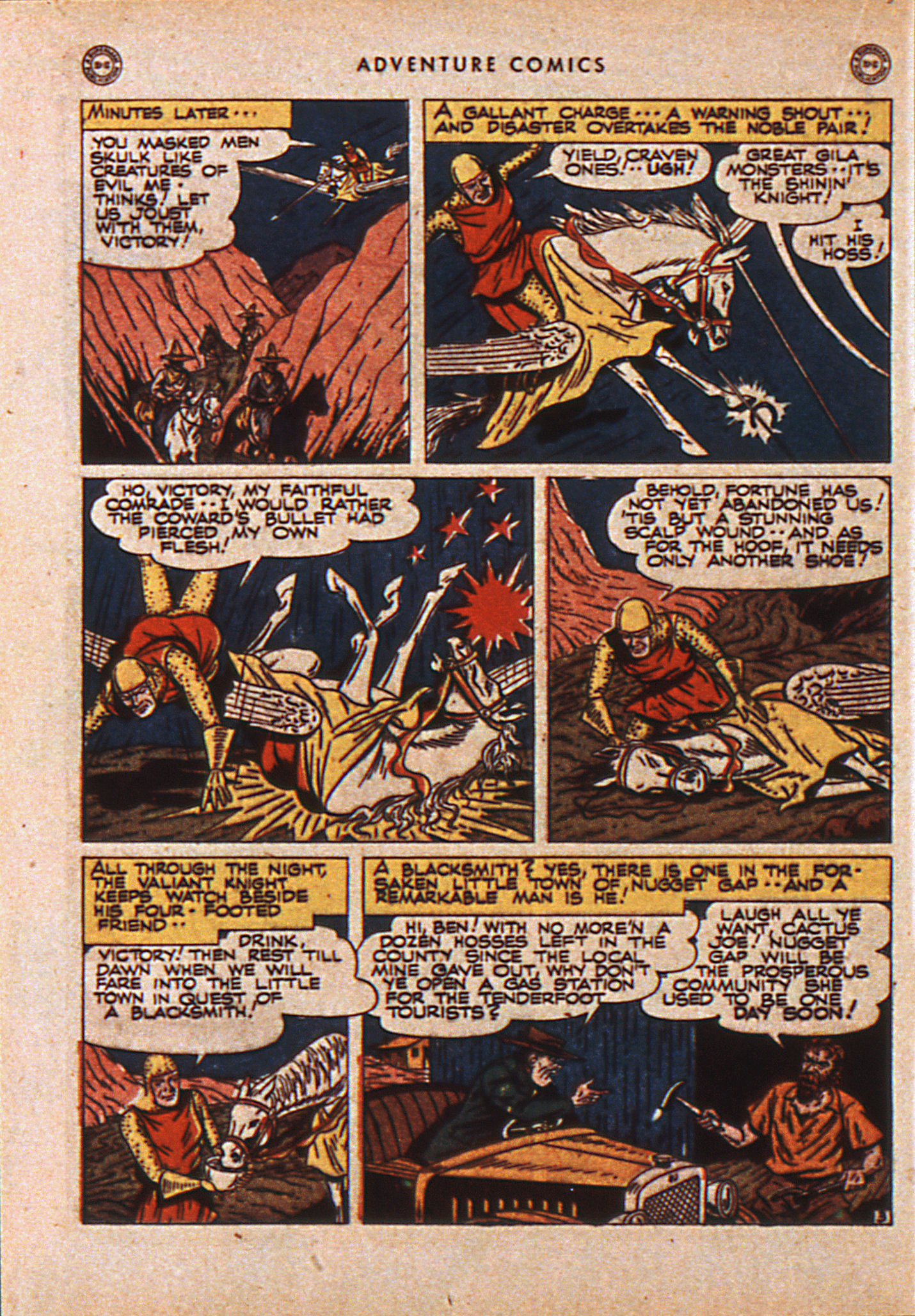 Read online Adventure Comics (1938) comic -  Issue #110 - 23