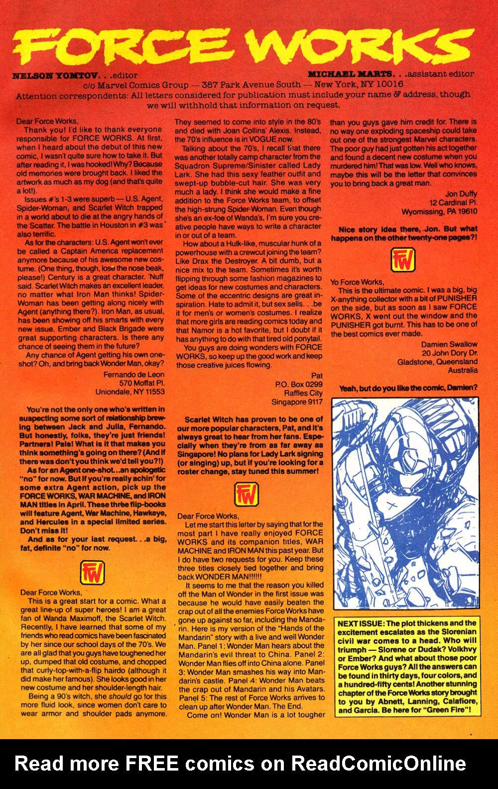 Force Works Issue #11 #11 - English 25