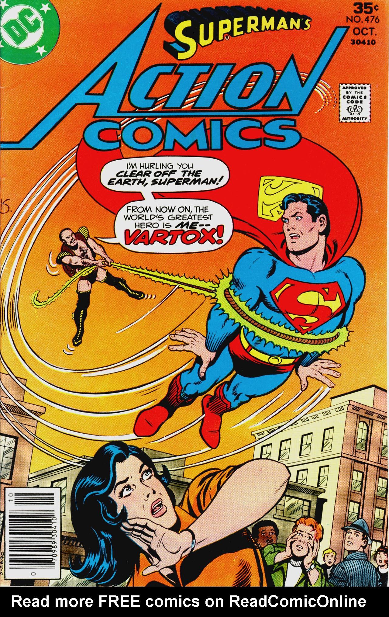 Action Comics (1938) 476 Page 1