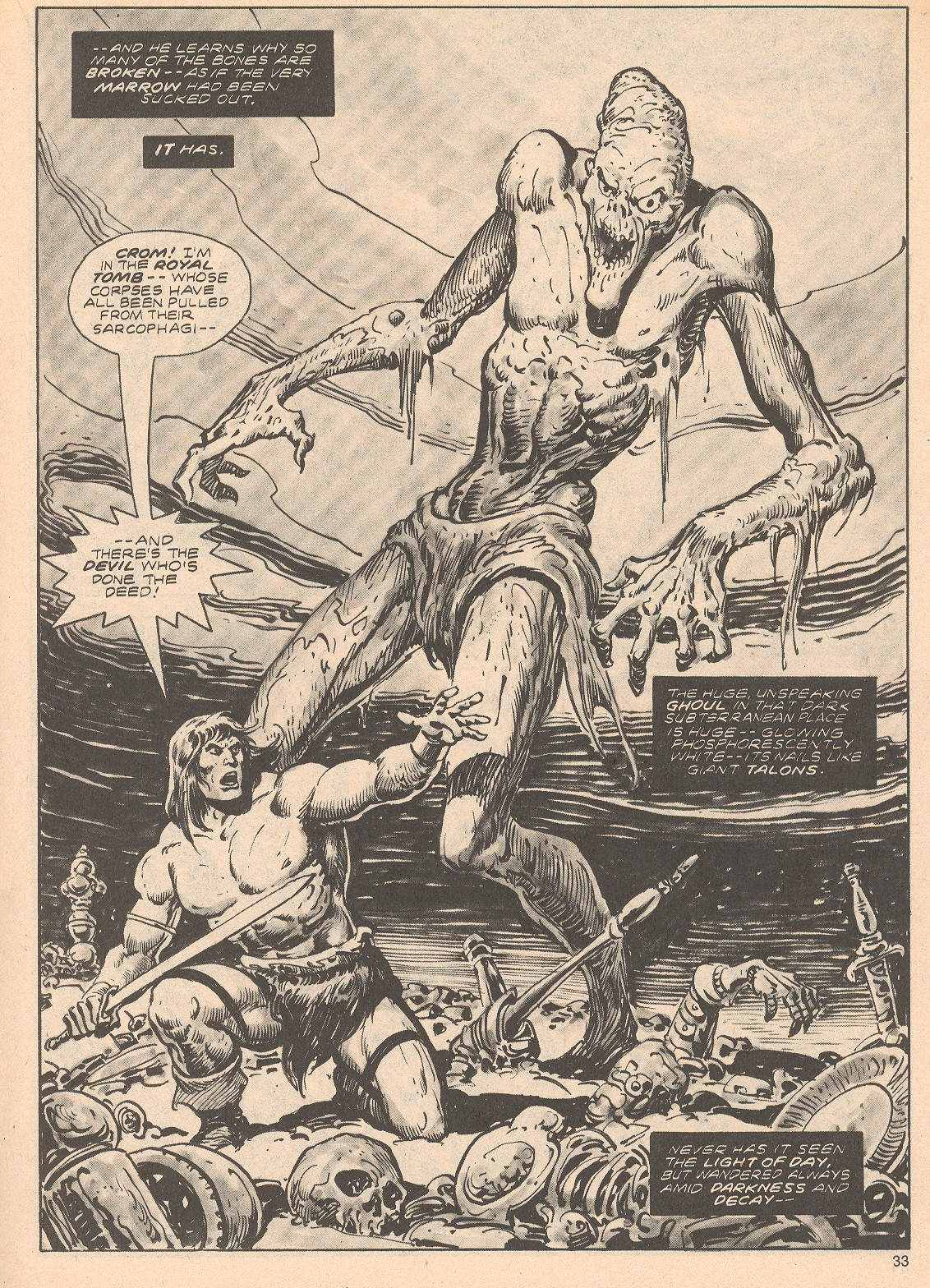The Savage Sword Of Conan Issue #68 #69 - English 33