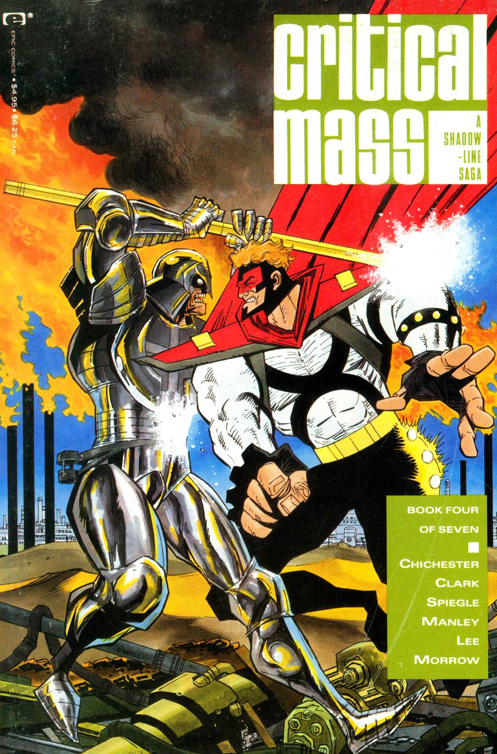 A Shadowline Saga: Critical Mass 4 Page 1