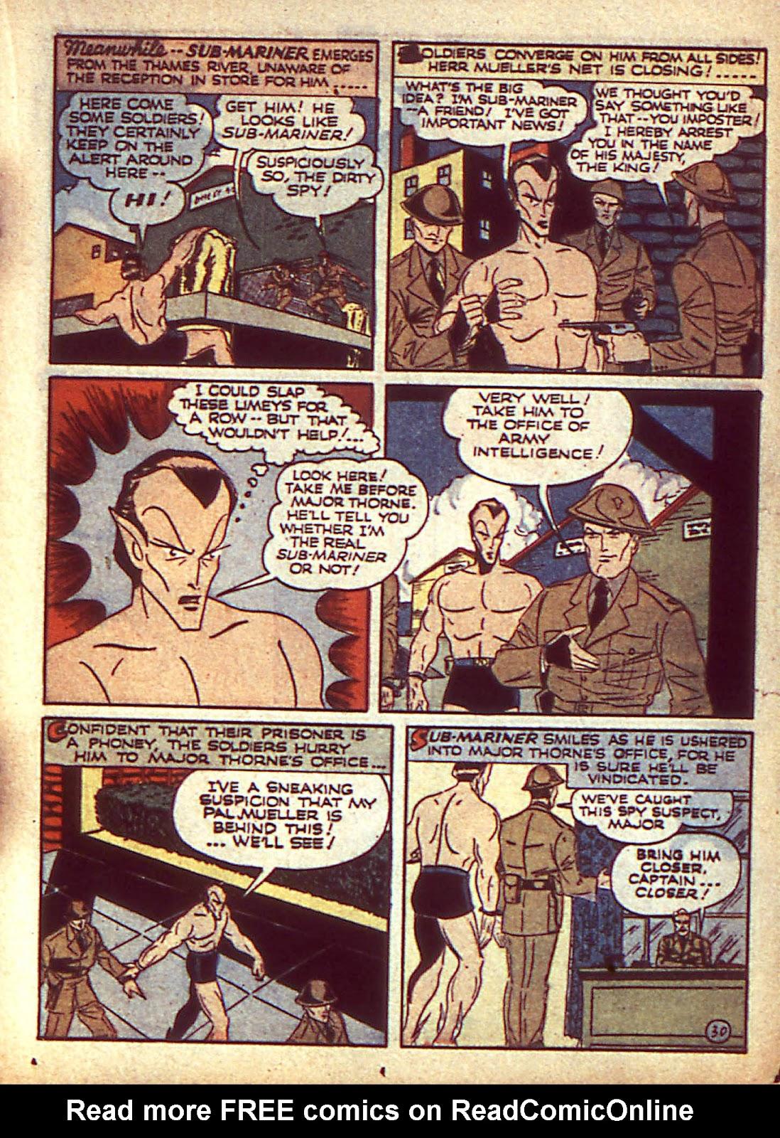 Sub-Mariner Comics Issue #3 #3 - English 34