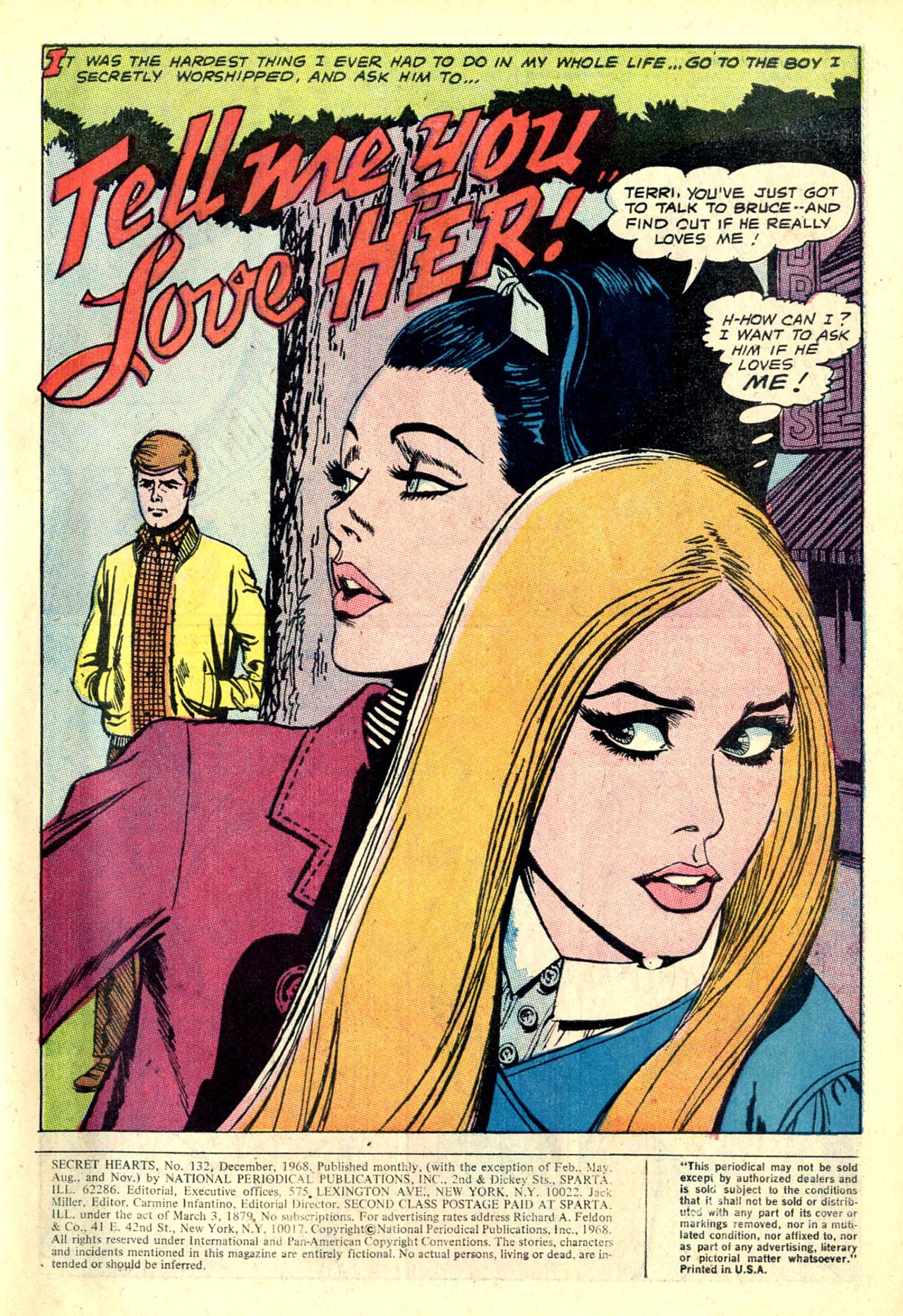 Read online Secret Hearts comic -  Issue #132 - 38
