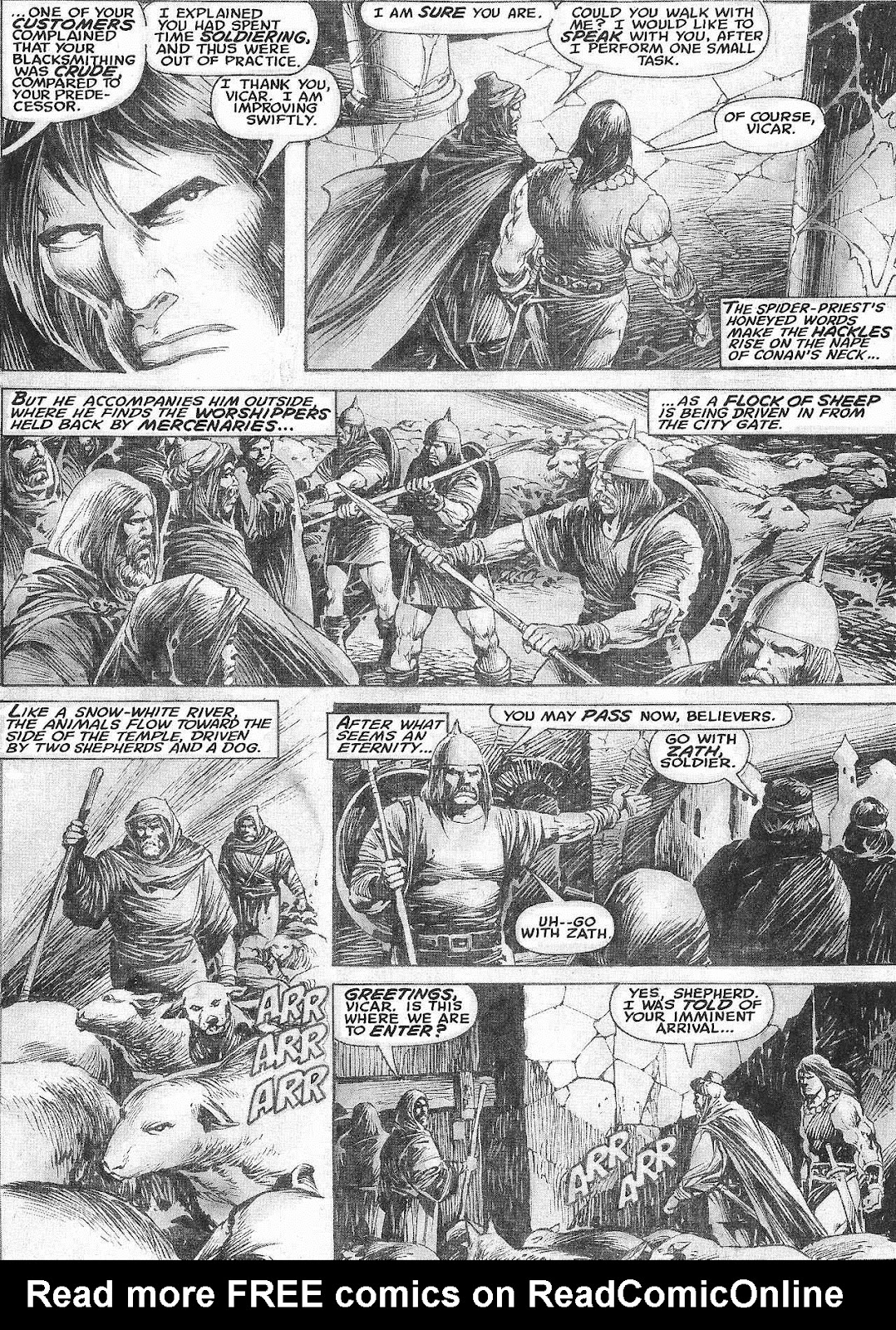 The Savage Sword Of Conan Issue #209 #210 - English 8