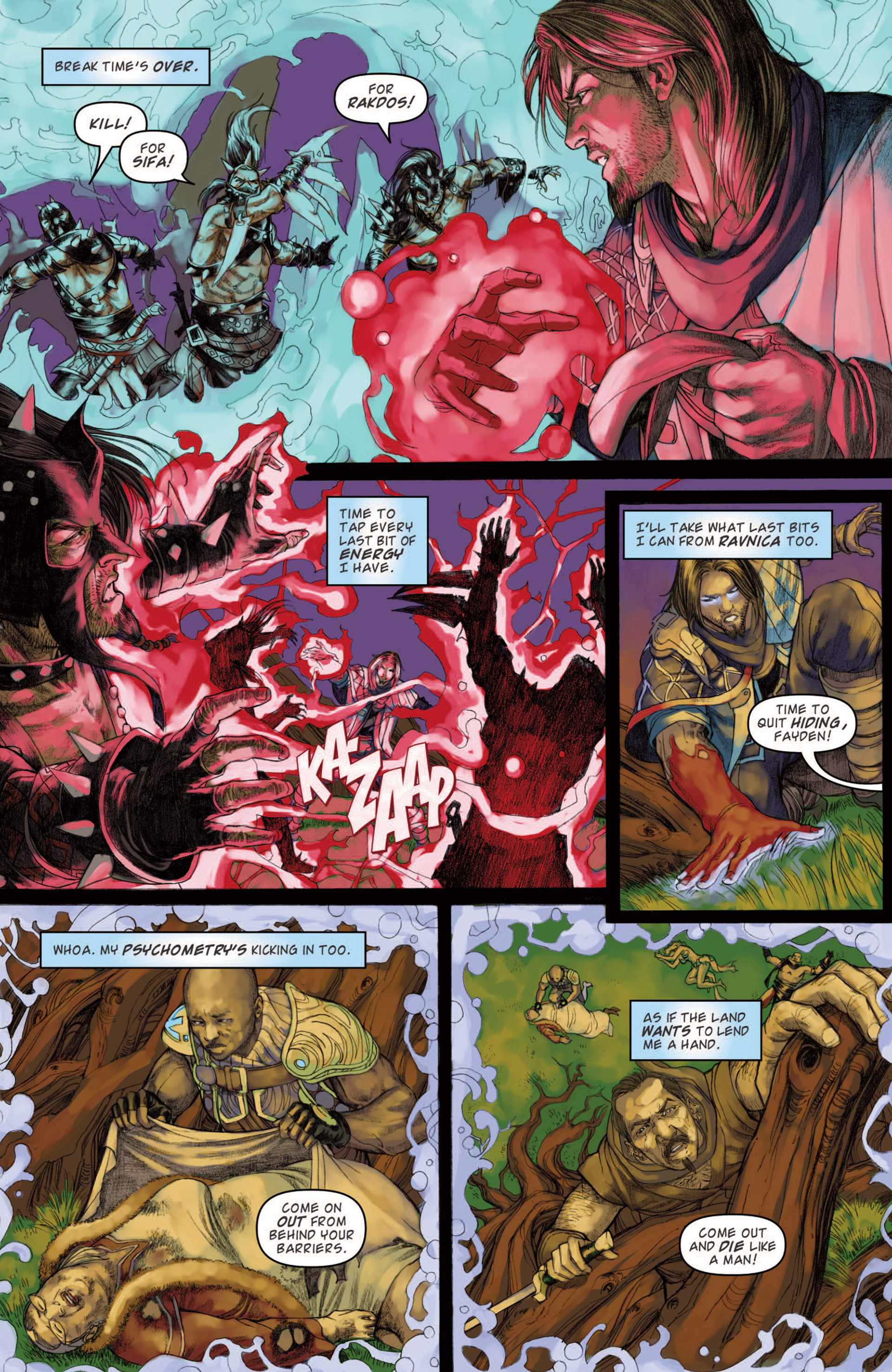 Read online Magic: The Gathering--Path of Vengeance comic -  Issue #4 - 15