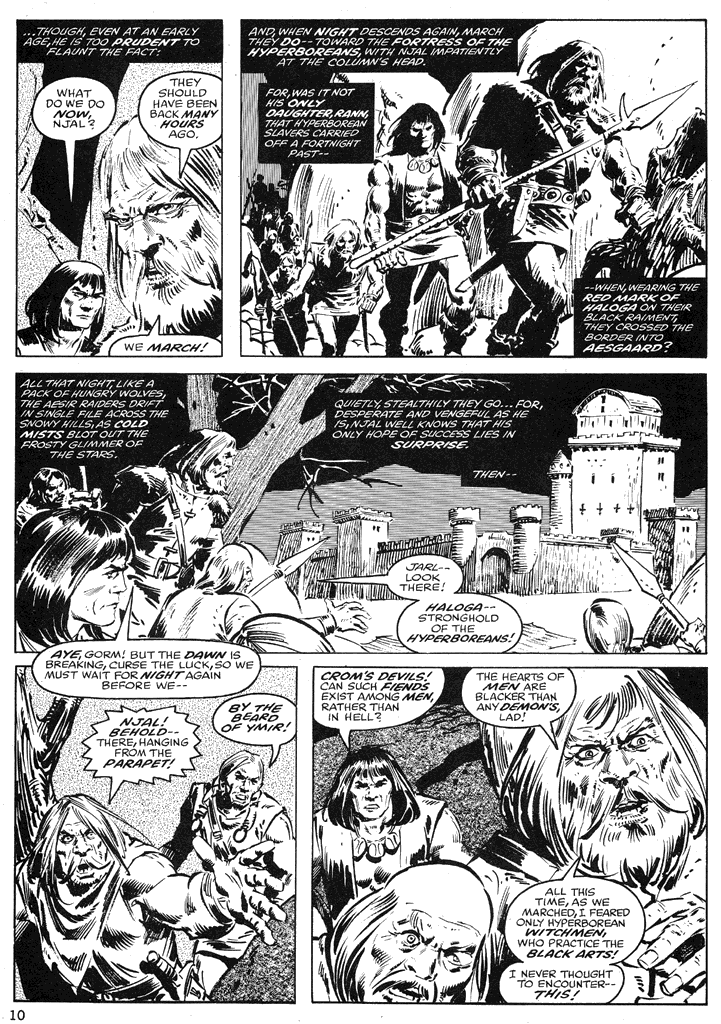 The Savage Sword Of Conan Issue #39 #40 - English 10
