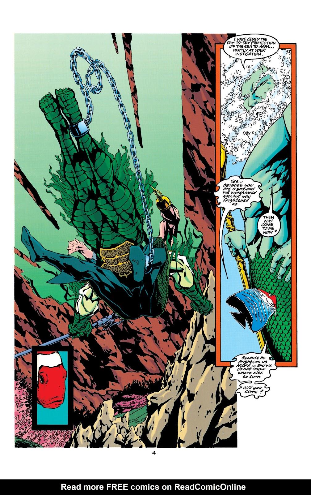 Aquaman (1994) Issue #34 #40 - English 4