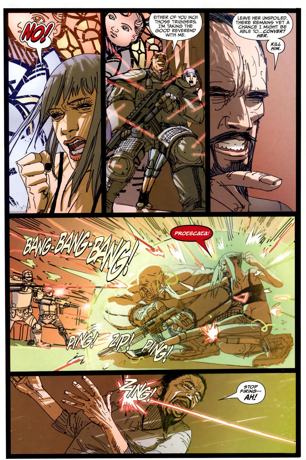 Read online Strange Girl comic -  Issue #6 - 19