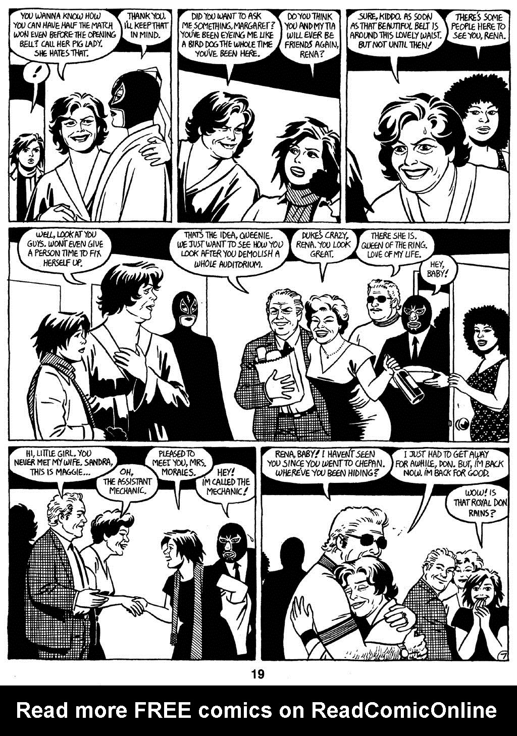 Love and Rockets (1982) Issue #16 #15 - English 21