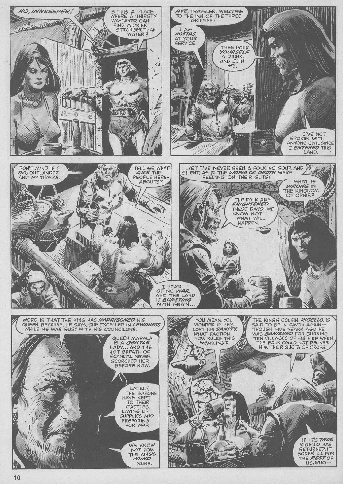 The Savage Sword Of Conan Issue #44 #45 - English 10