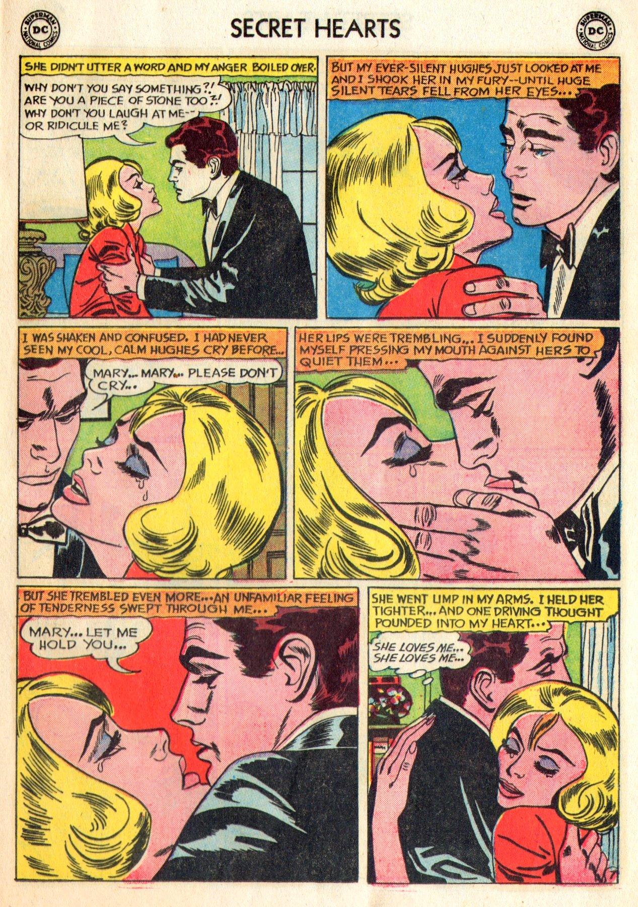 Read online Secret Hearts comic -  Issue #84 - 9