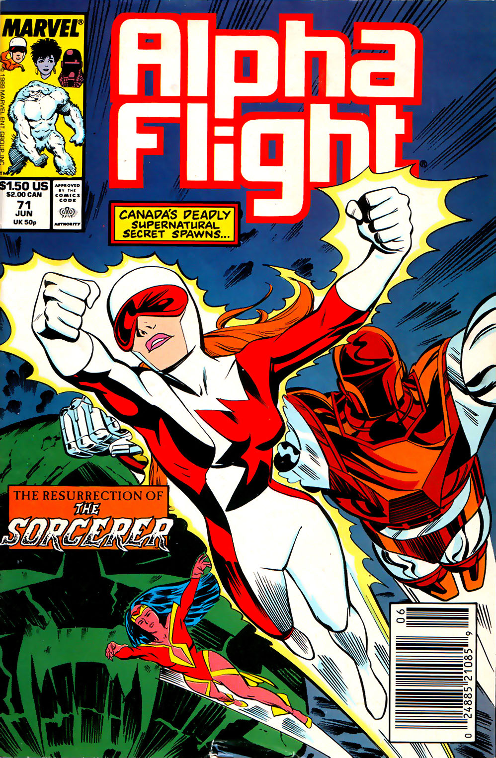 Alpha Flight (1983) 71 Page 1