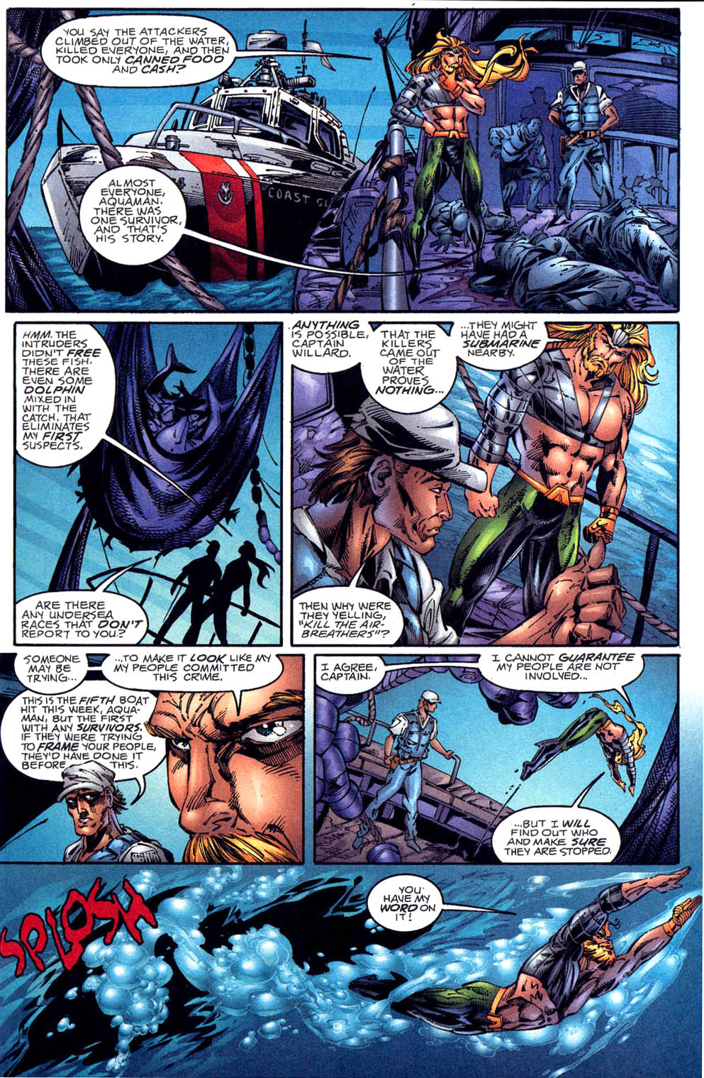 Aquaman (1994) Issue #60 #66 - English 10