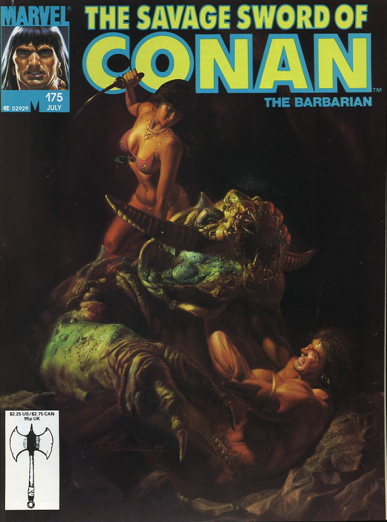 The Savage Sword Of Conan Issue #175 #176 - English 1