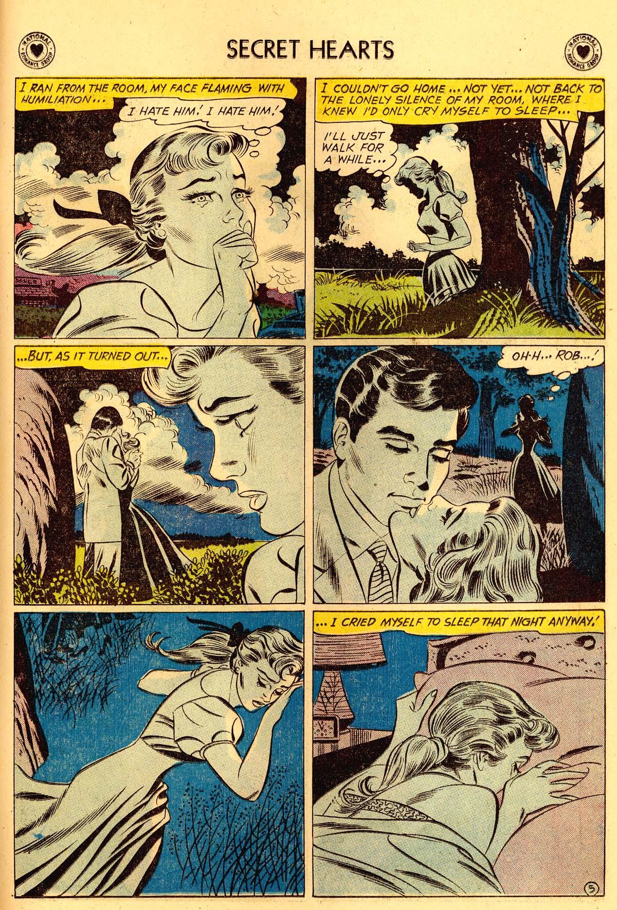 Read online Secret Hearts comic -  Issue #62 - 31