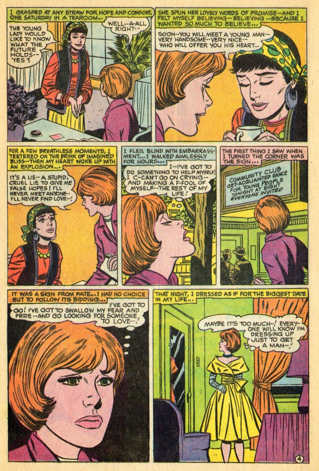 Read online Secret Hearts comic -  Issue #134 - 17