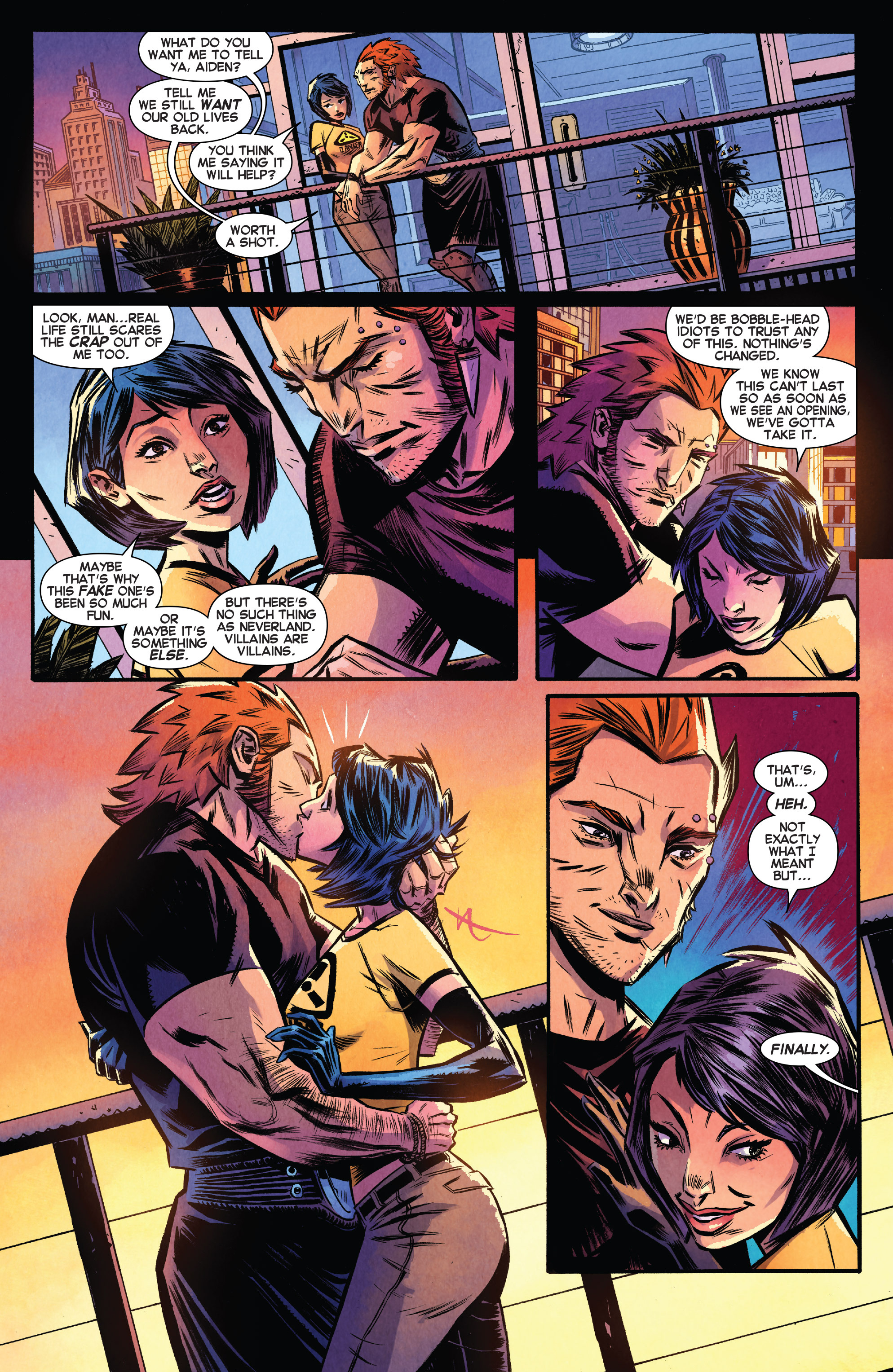 Read online Avengers Undercover comic -  Issue #8 - 8