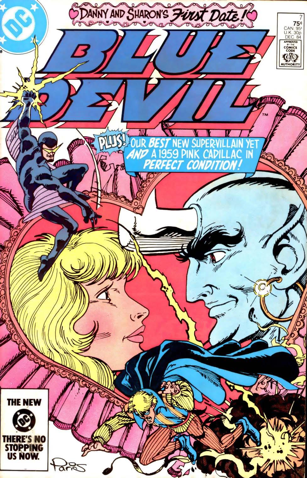Blue Devil 7 Page 1
