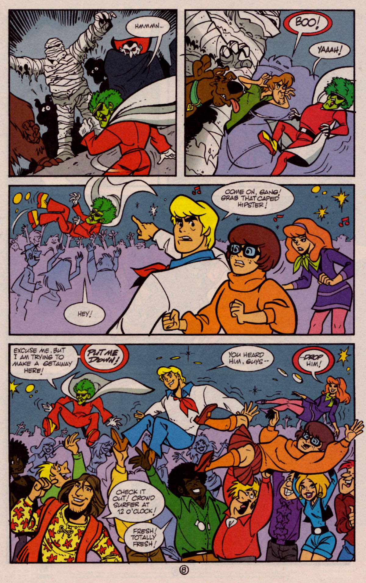 Read online Scooby-Doo (1997) comic -  Issue #25 - 9