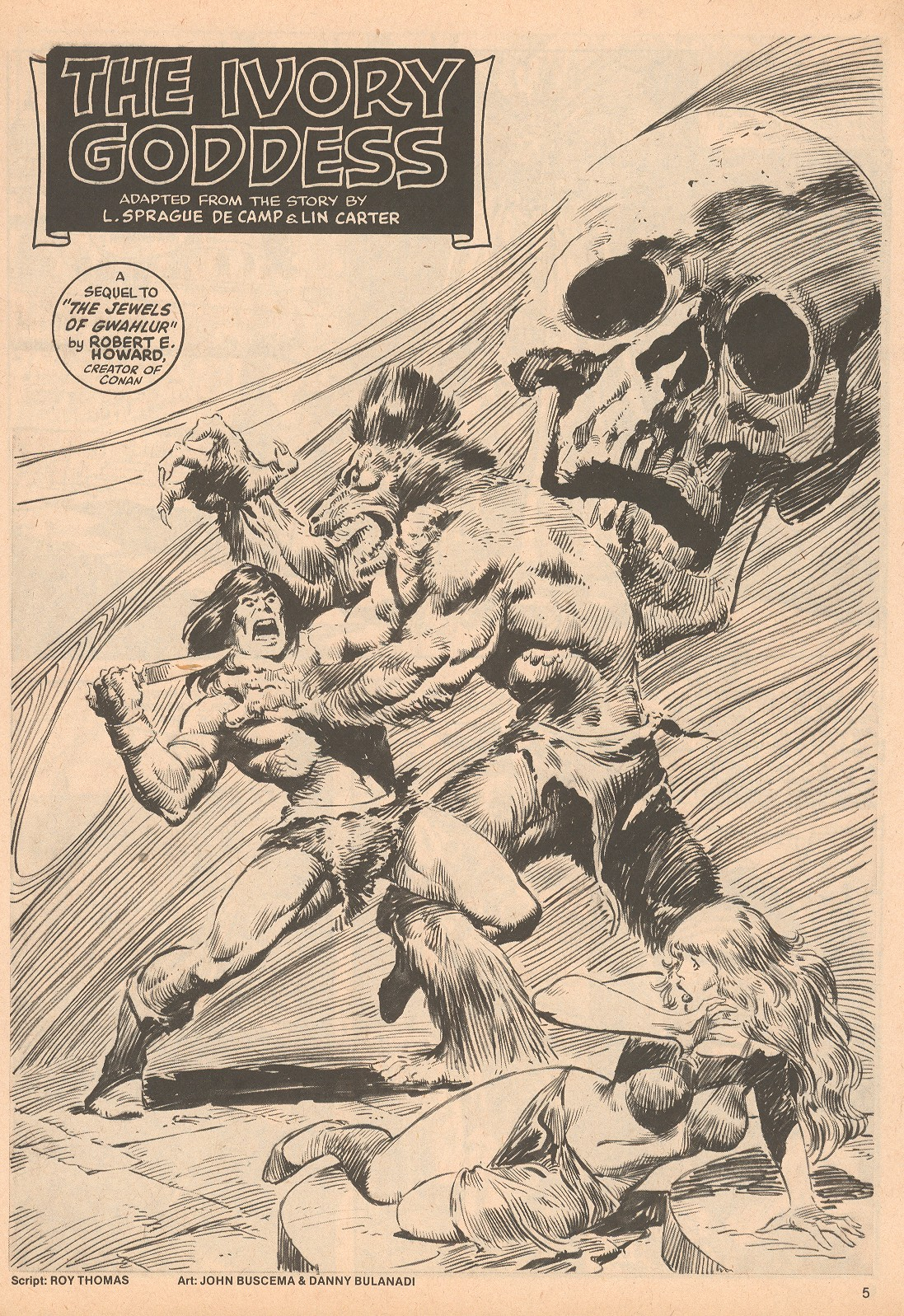 The Savage Sword Of Conan Issue #60 #61 - English 5