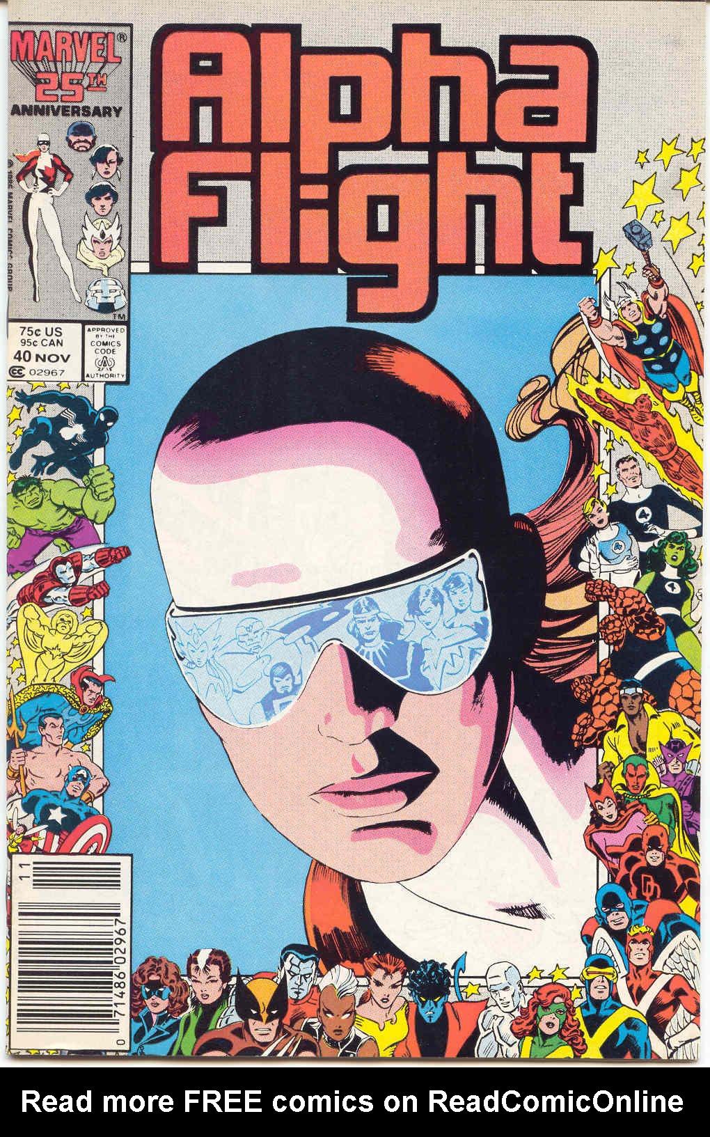 Alpha Flight (1983) 40 Page 1