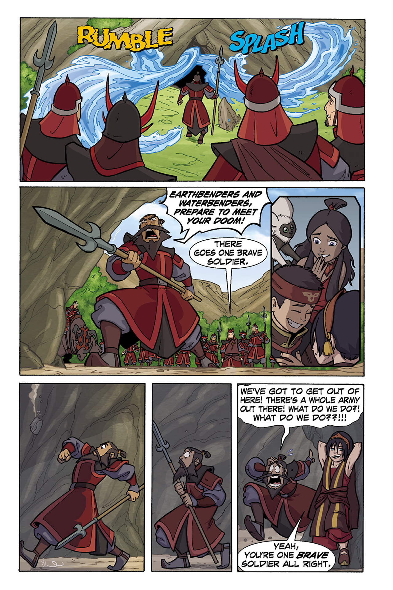 Nickelodeon Avatar: The Last Airbender - The Lost Adventures chap full pic 137