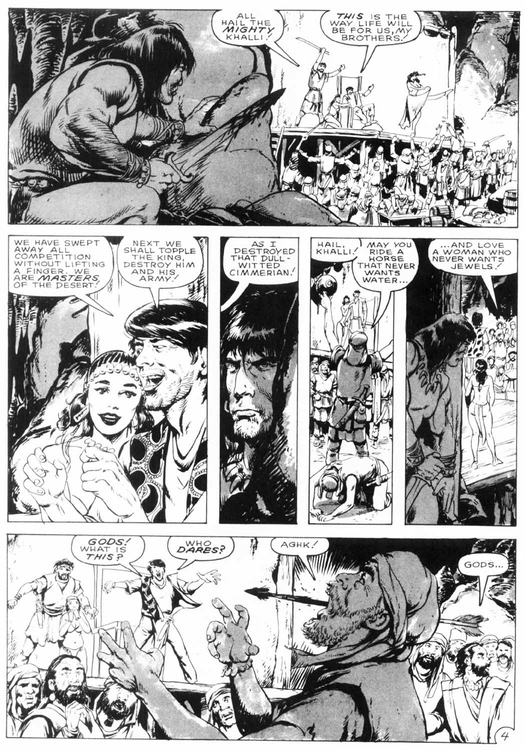 The Savage Sword Of Conan Issue #154 #155 - English 8