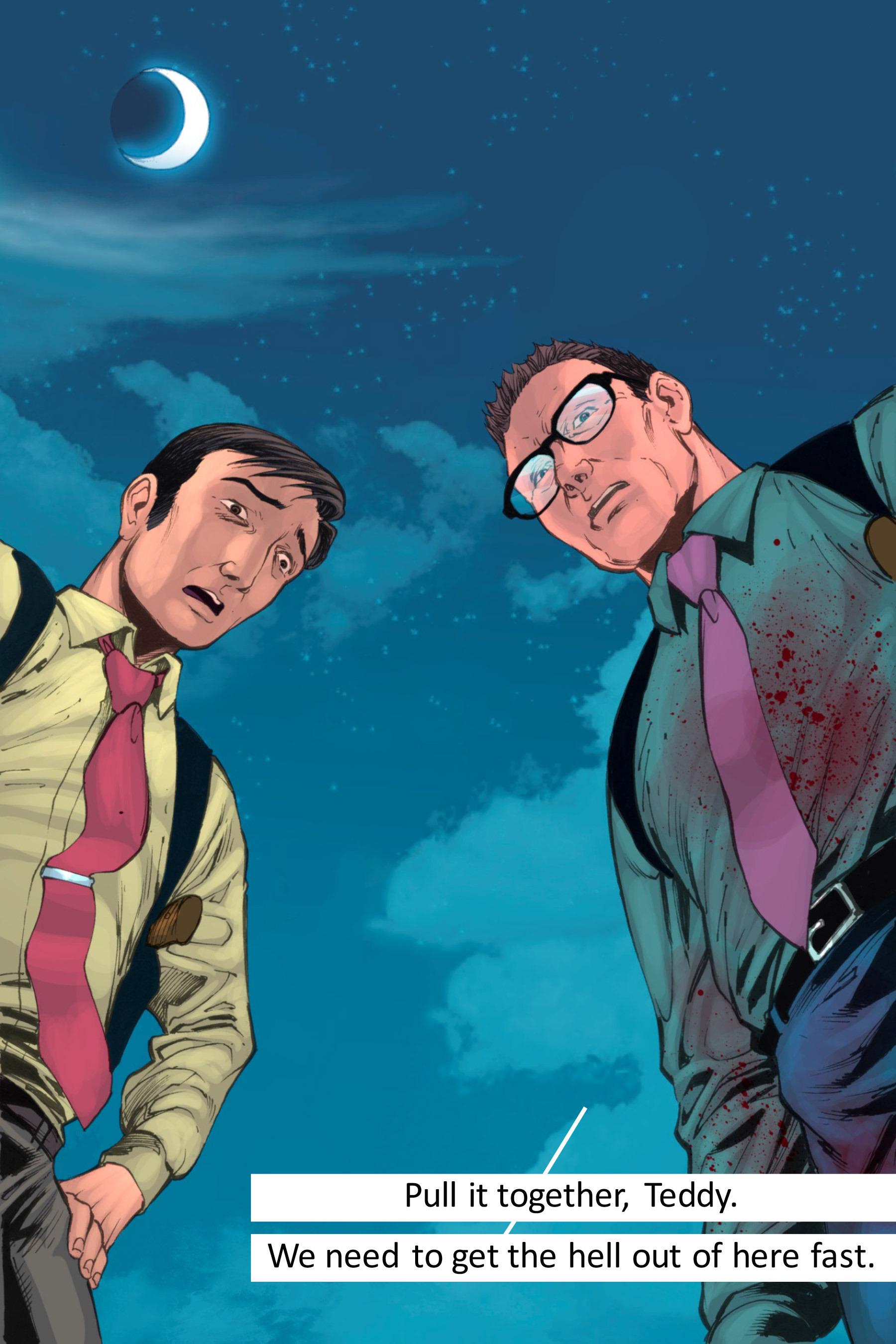 Read online Z-Men comic -  Issue #3 - 141