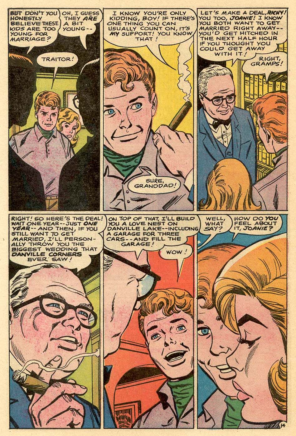 Read online Secret Hearts comic -  Issue #122 - 31