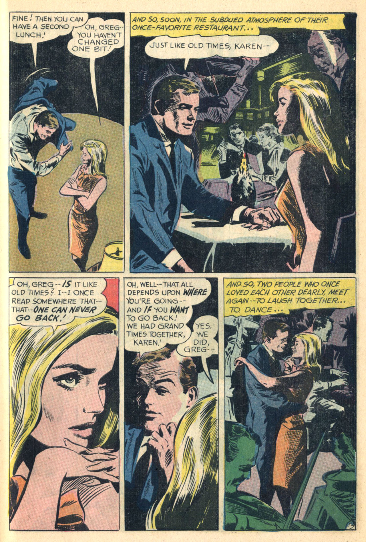 Read online Secret Hearts comic -  Issue #110 - 31