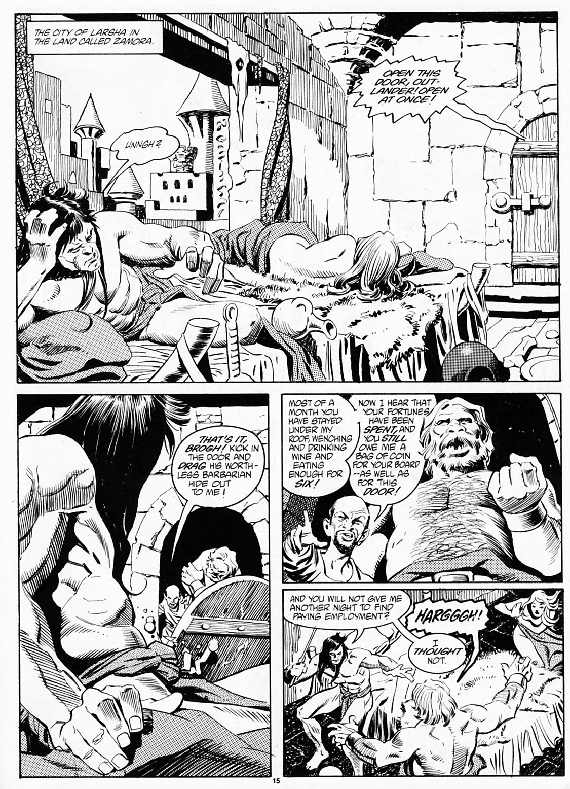 The Savage Sword Of Conan Issue #186 #187 - English 17