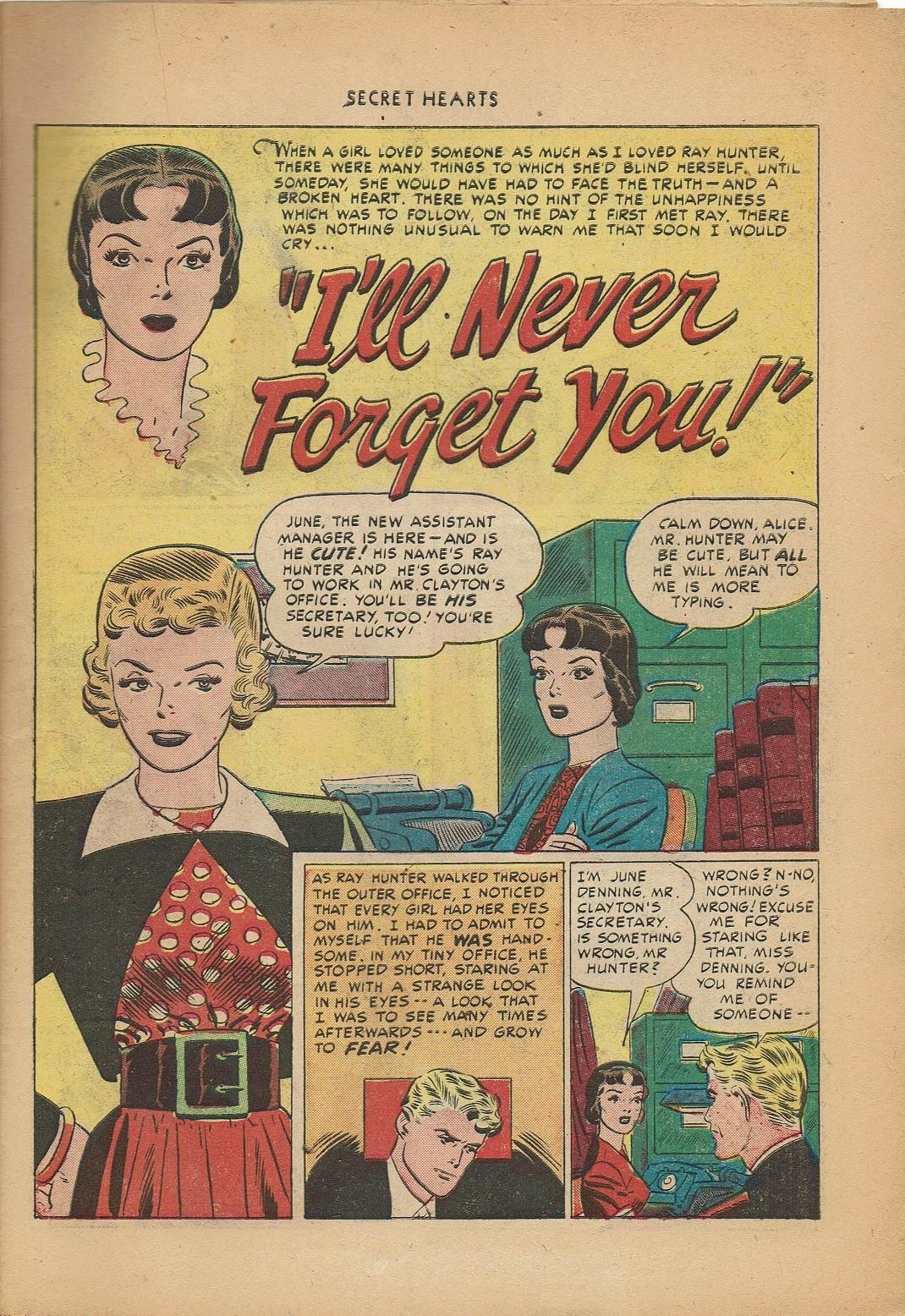Read online Secret Hearts comic -  Issue #2 - 11