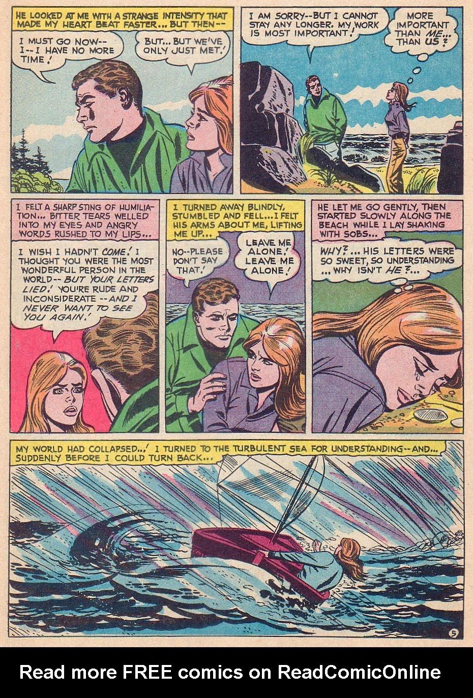 Read online Secret Hearts comic -  Issue #124 - 11