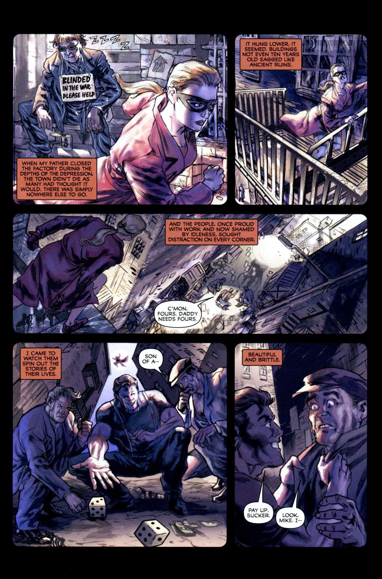 Read online Masquerade comic -  Issue #2 - 18