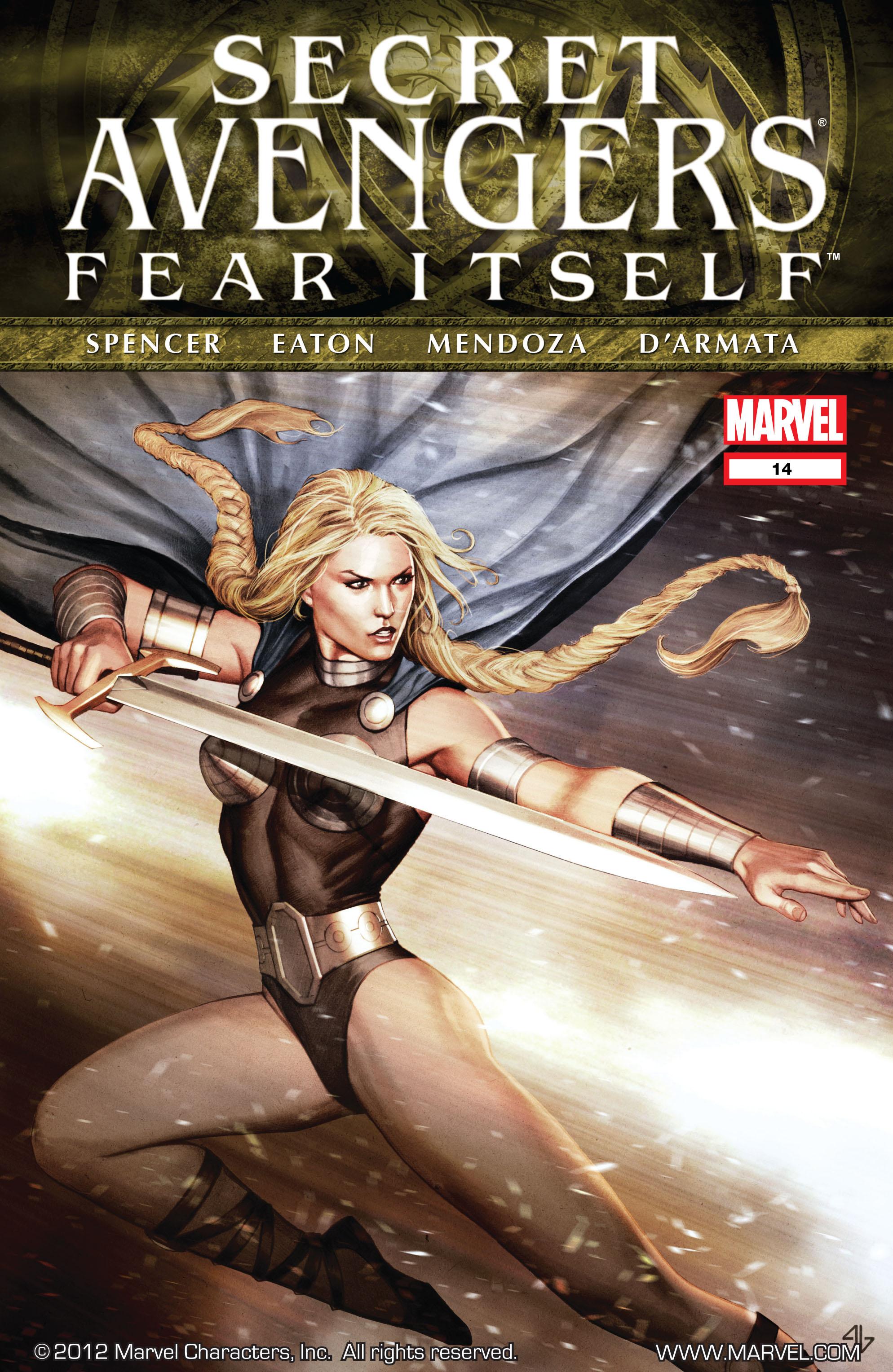 Read online Secret Avengers (2010) comic -  Issue #14 - 1