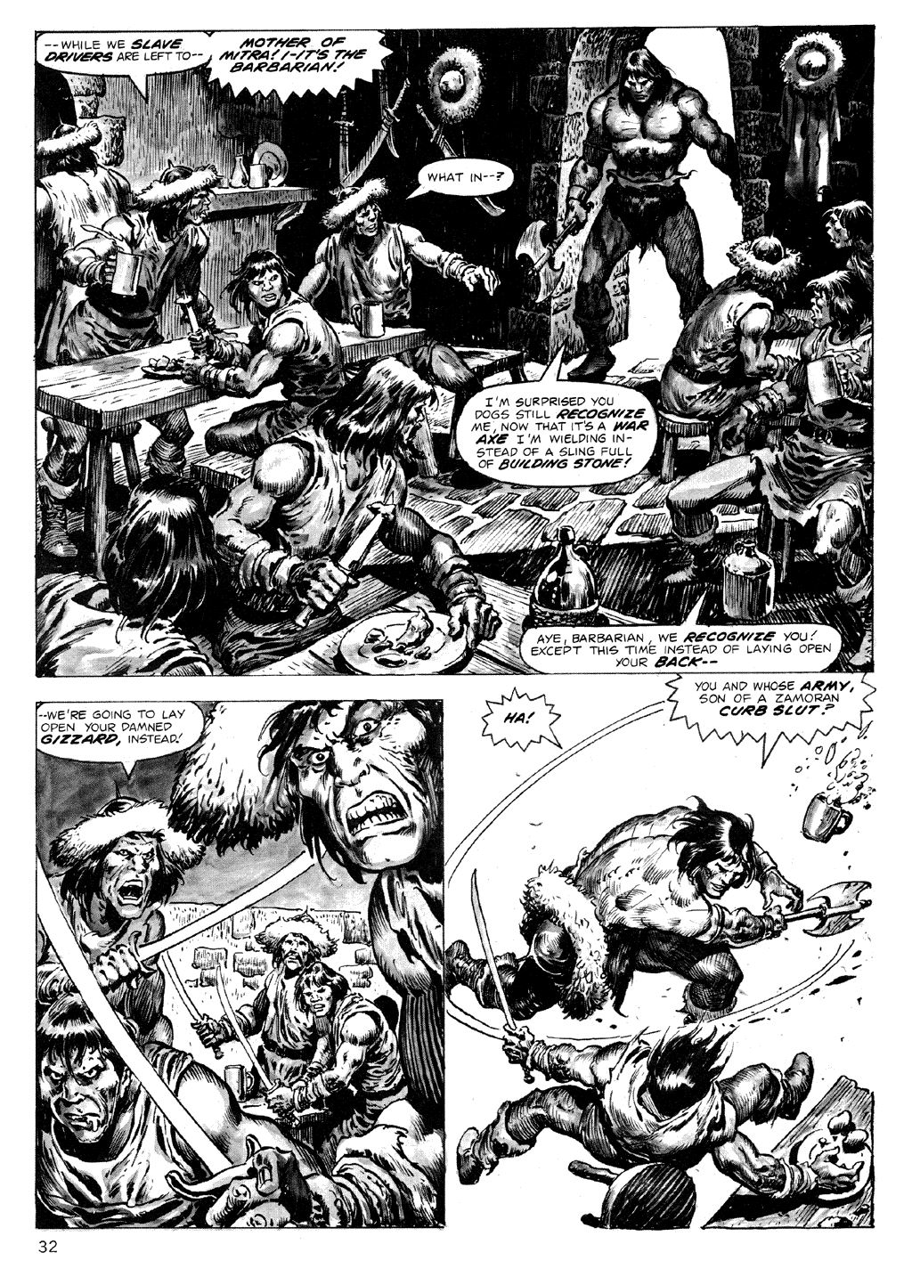 The Savage Sword Of Conan Issue #71 #72 - English 32