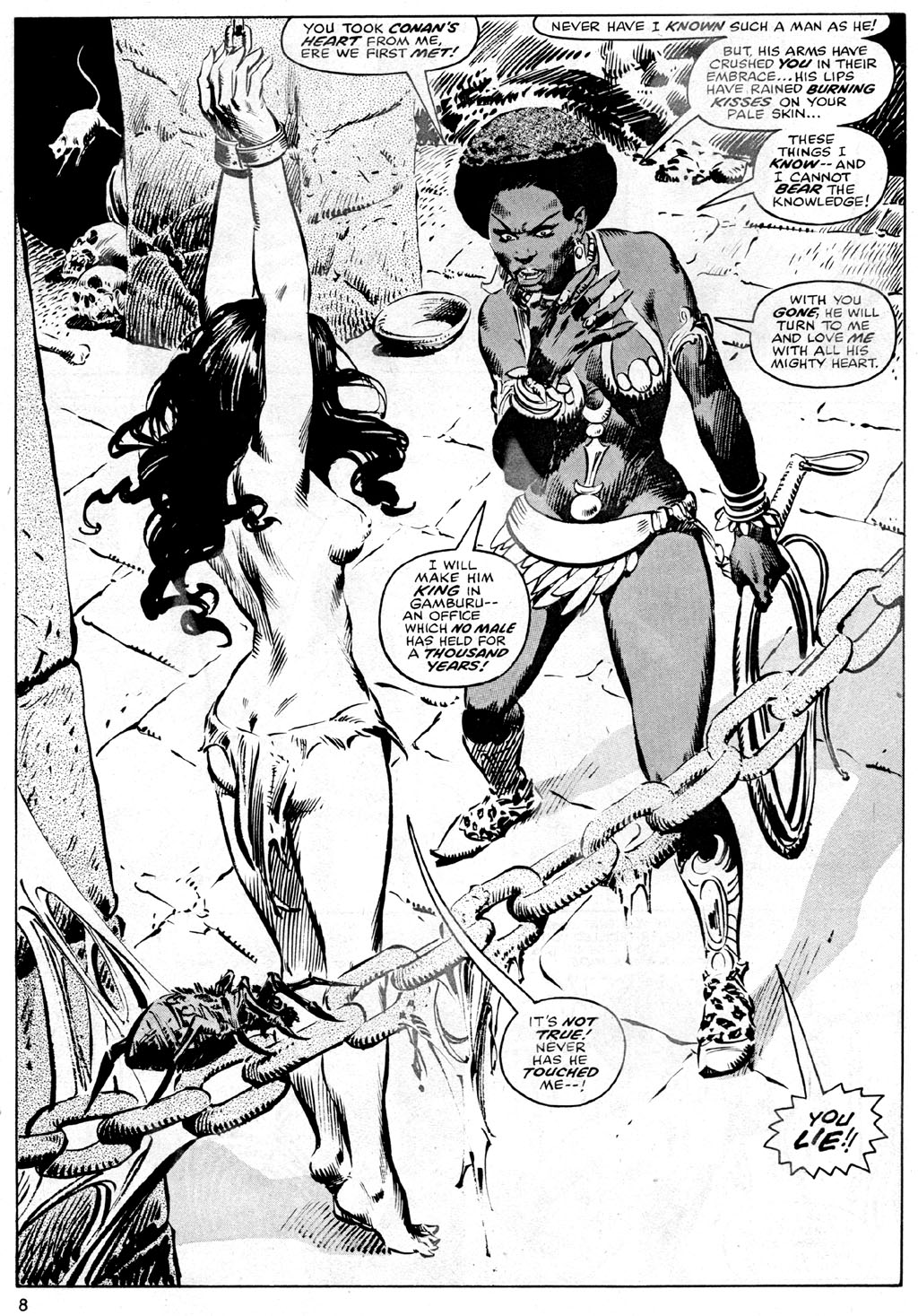 The Savage Sword Of Conan Issue #42 #43 - English 8